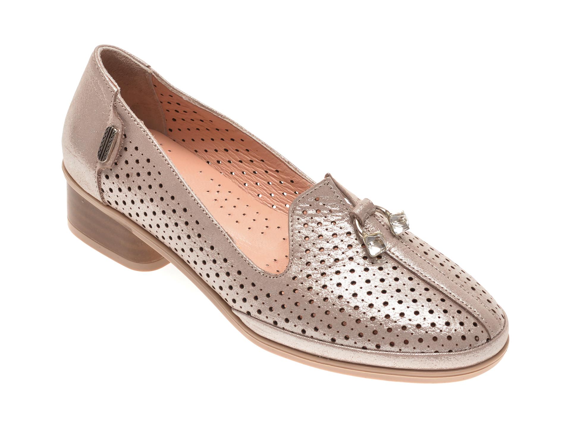 Pantofi FLAVIA PASSINI bej, 084177, din piele naturala New