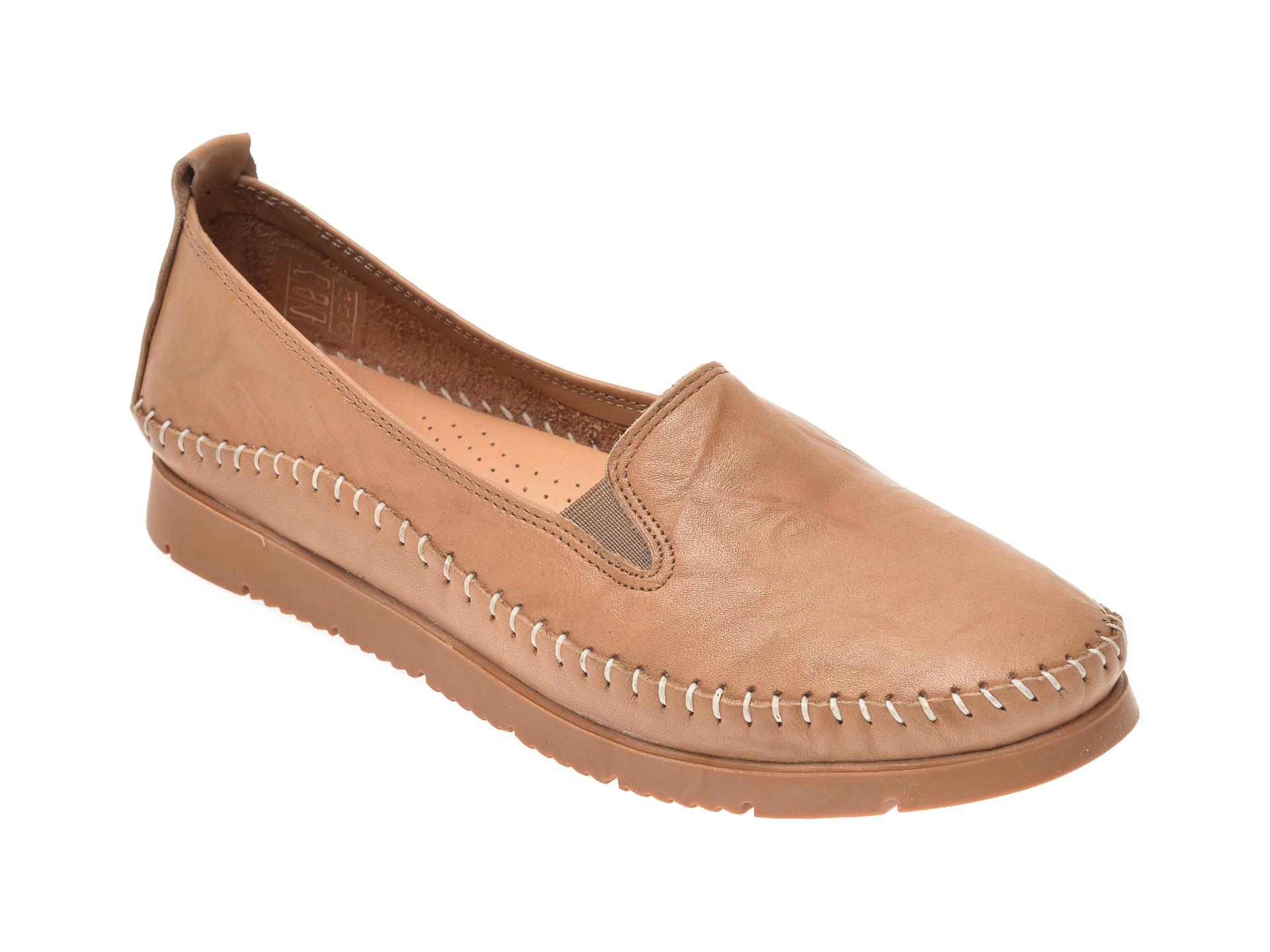 Pantofi FLAVIA PASSINI bej, 1433, din piele naturala