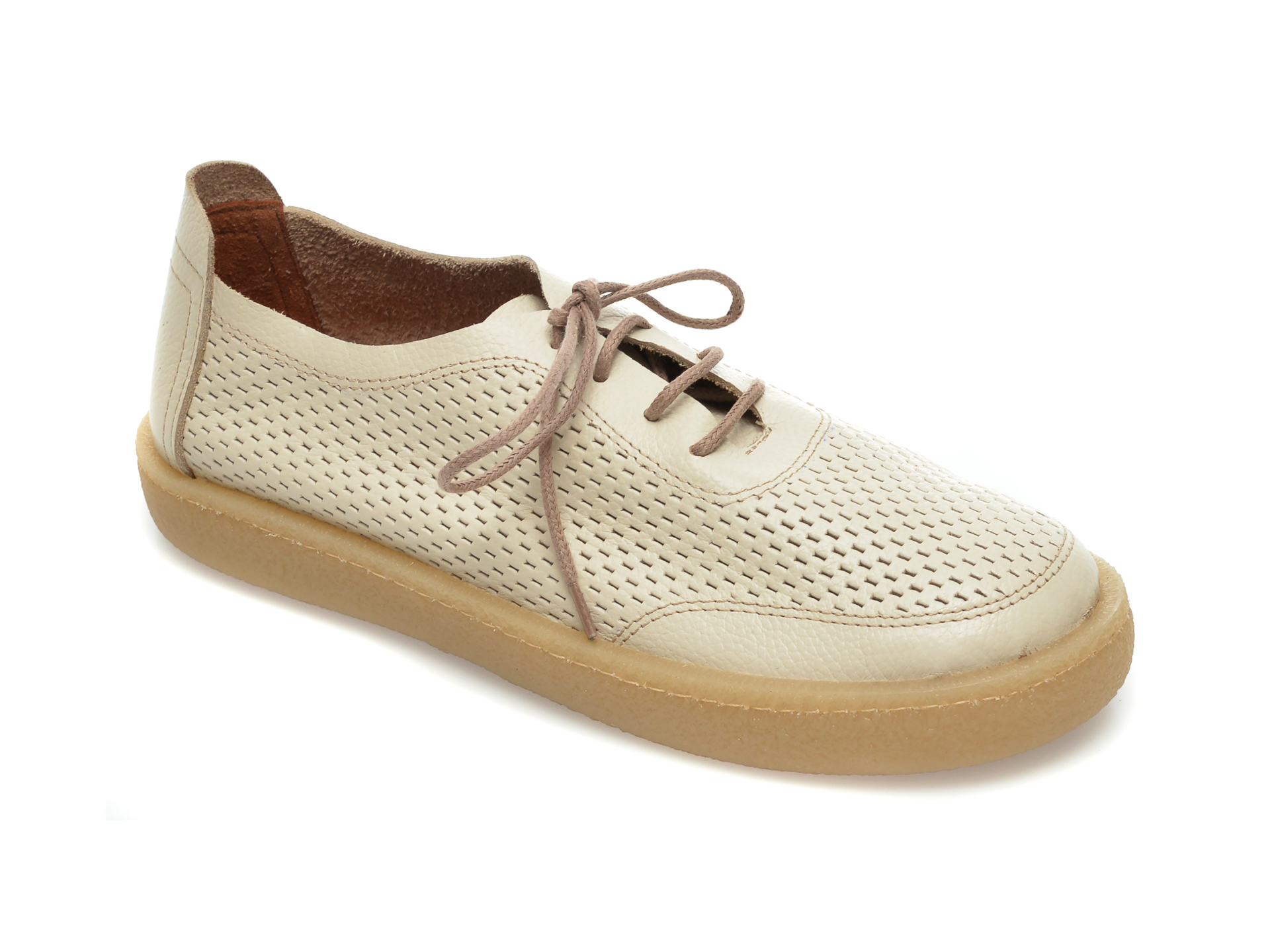 Pantofi FLAVIA PASSINI bej, 20712, din piele naturala imagine otter.ro 2021