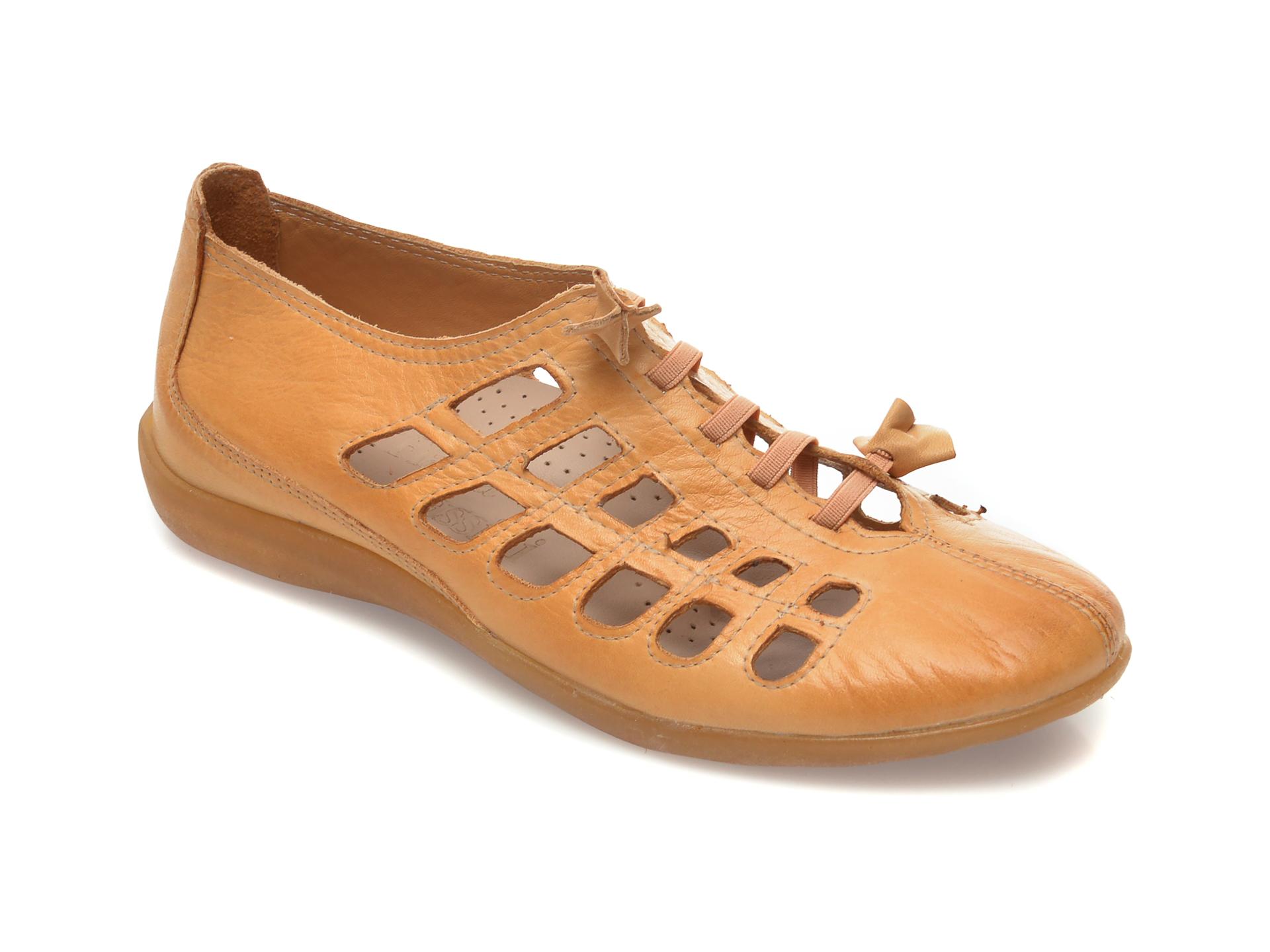 Pantofi FLAVIA PASSINI bej, 305, din piele naturala imagine otter.ro 2021