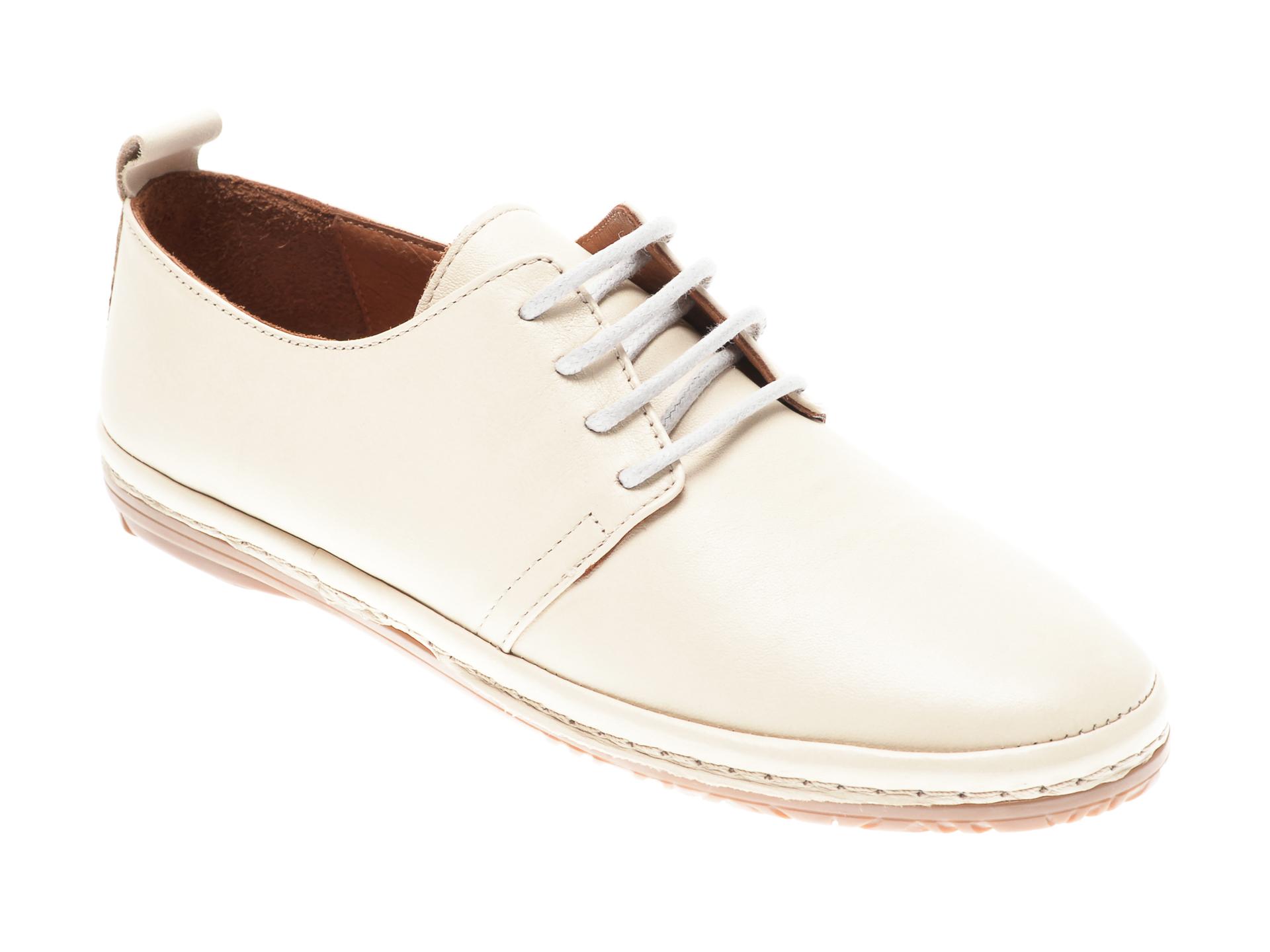 Pantofi FLAVIA PASSINI bej, 951110, din piele naturala imagine