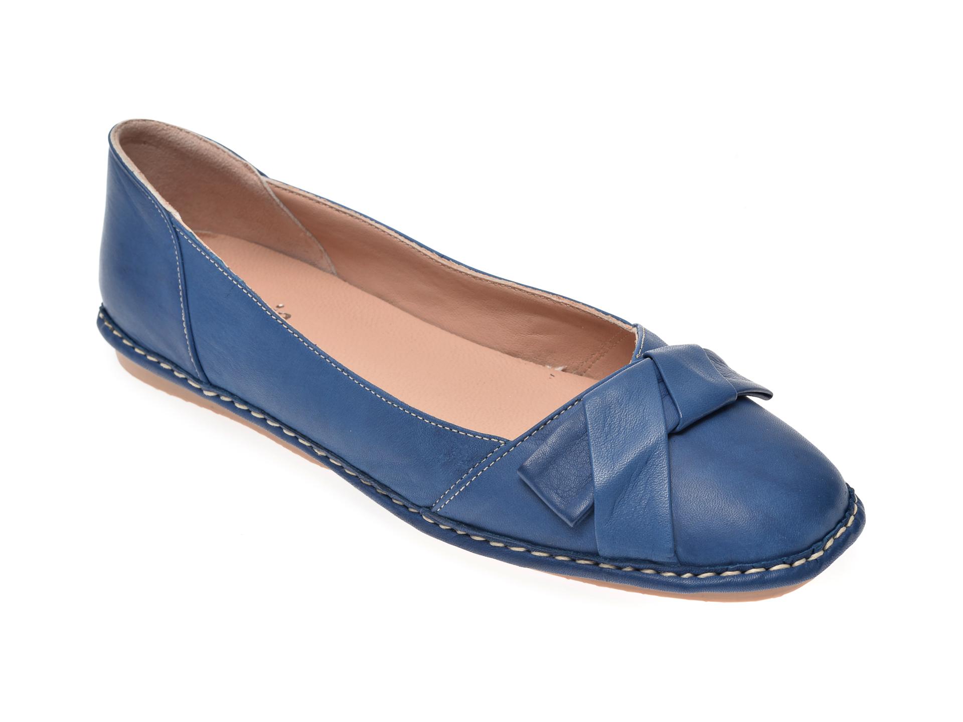Pantofi FLAVIA PASSINI bleumarin, 05390, din piele naturala imagine