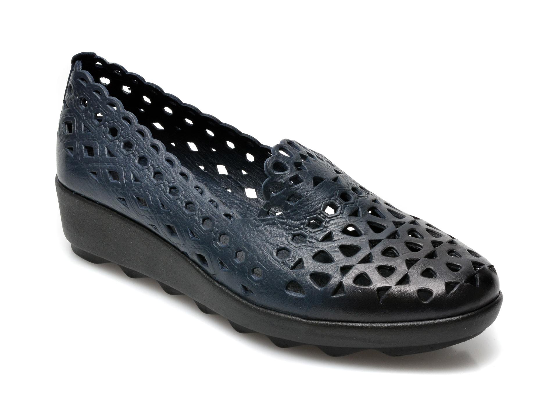 Pantofi FLAVIA PASSINI bleumarin, 1011, din piele naturala imagine otter.ro 2021