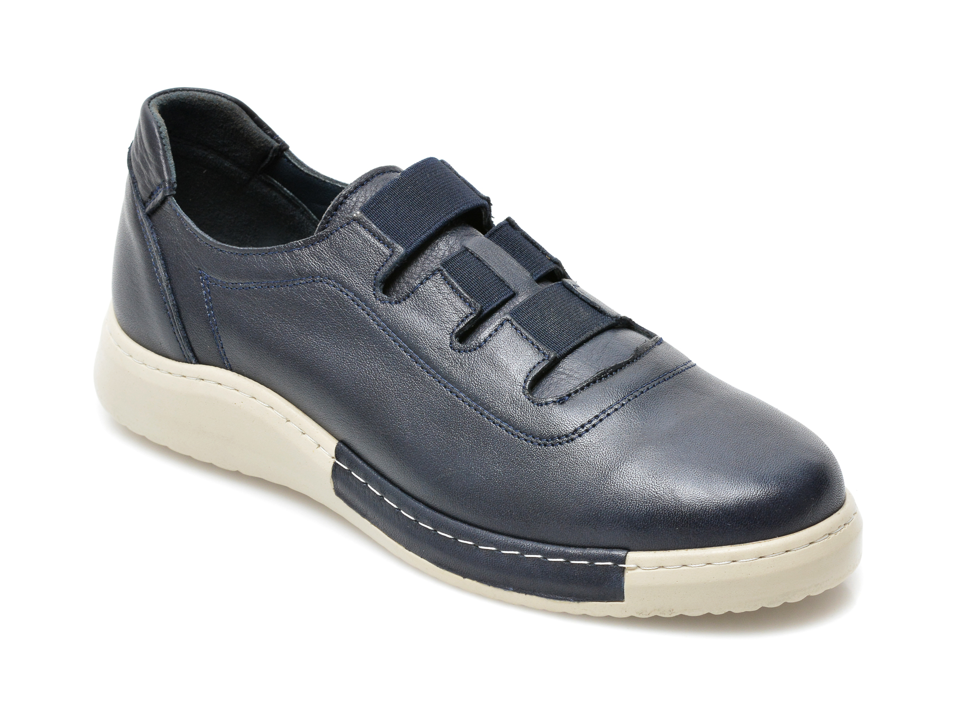 Pantofi Flavia Passini Bleumarin, 32, Din Piele Naturala