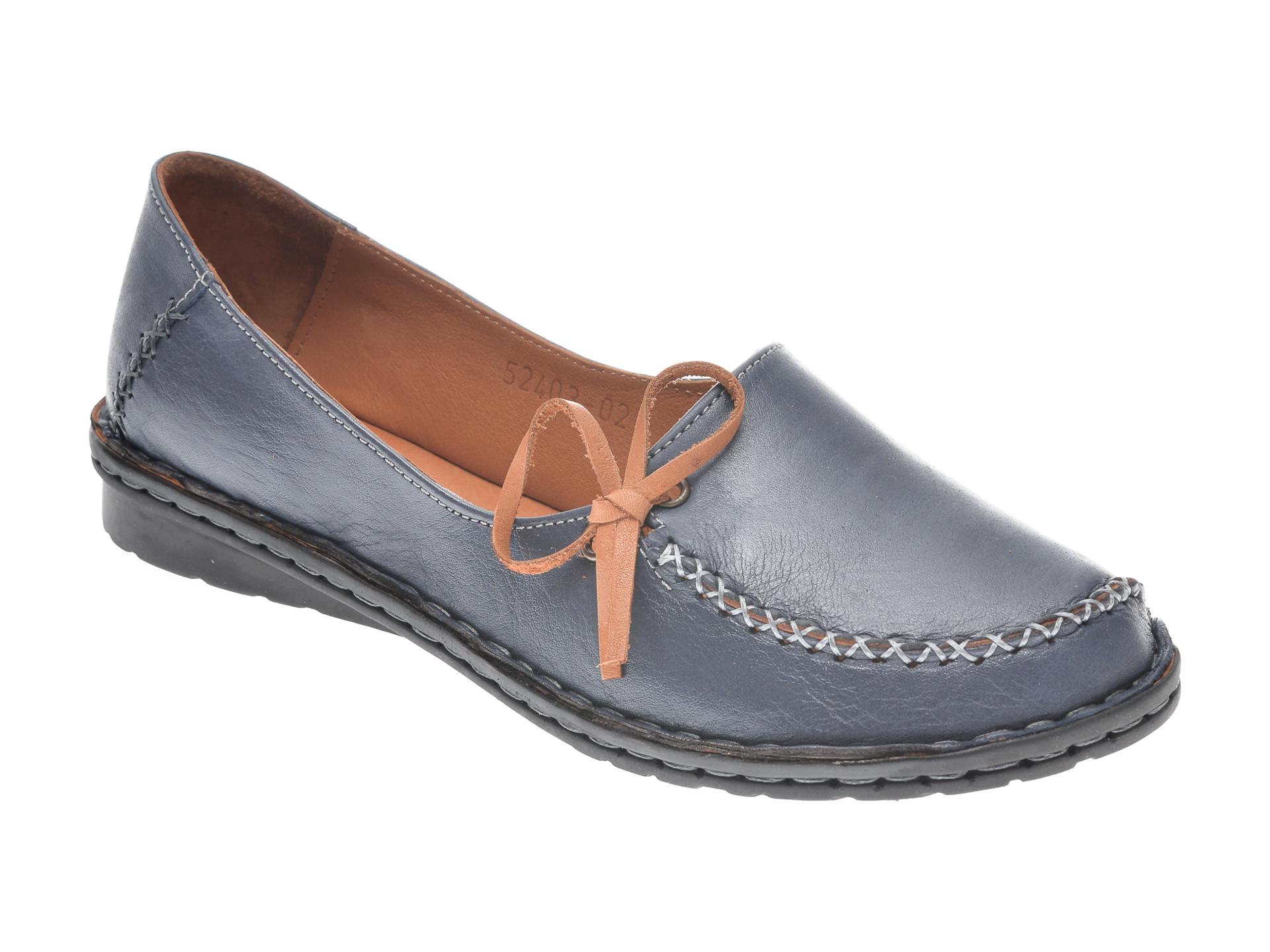 Pantofi FLAVIA PASSINI bleumarin, 952403, din piele naturala imagine