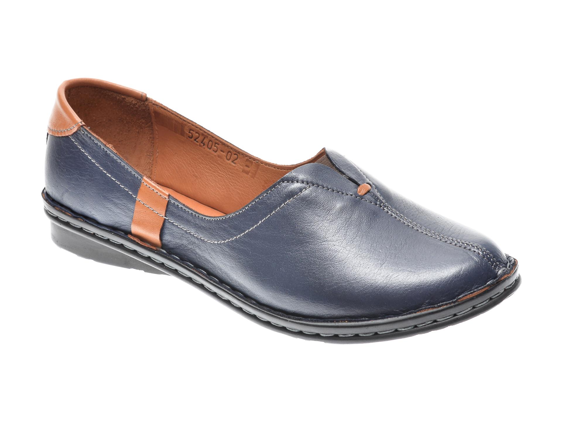 Pantofi FLAVIA PASSINI bleumarin, 952405, din piele naturala imagine