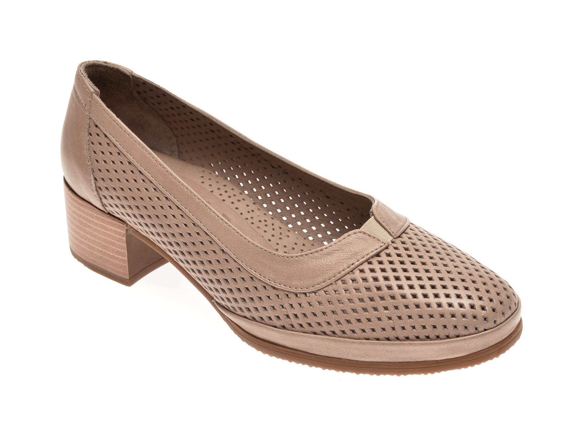 Pantofi FLAVIA PASSINI gri, 0105064, din piele naturala
