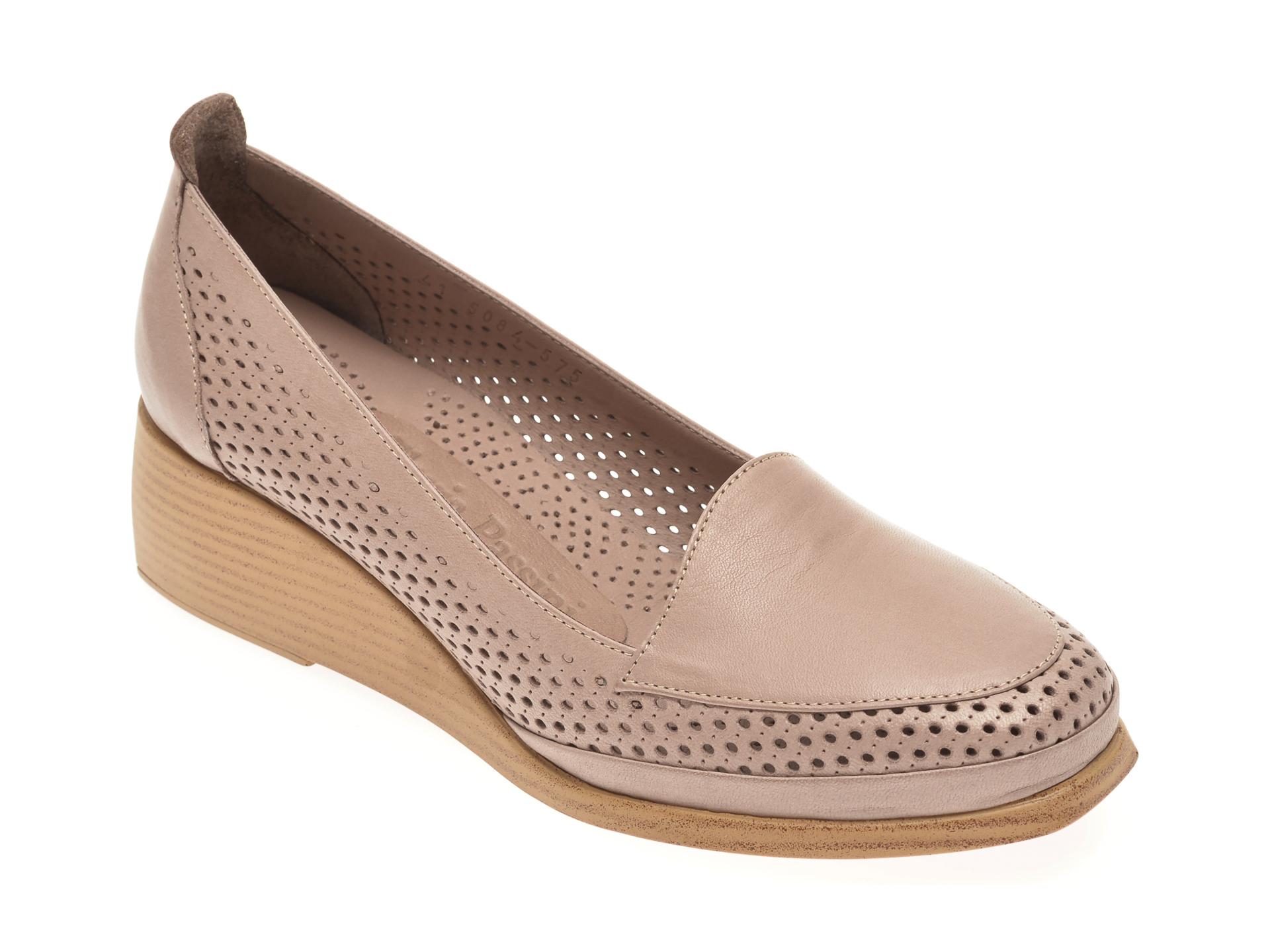 Pantofi FLAVIA PASSINI gri, 0105084, din piele naturala
