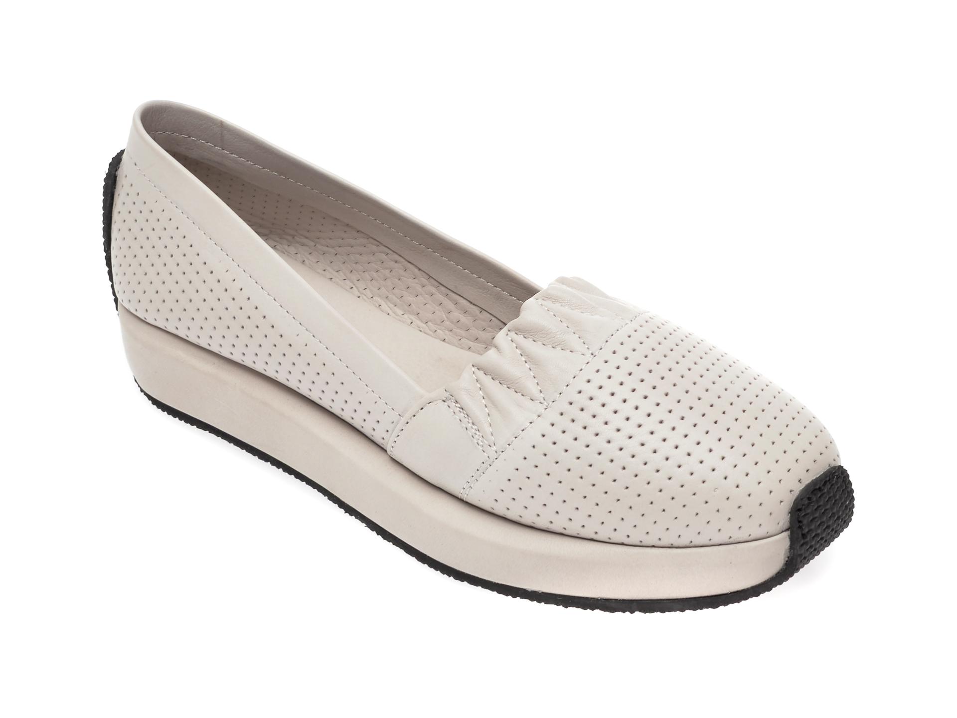 Pantofi FLAVIA PASSINI gri, 1696025, din piele naturala