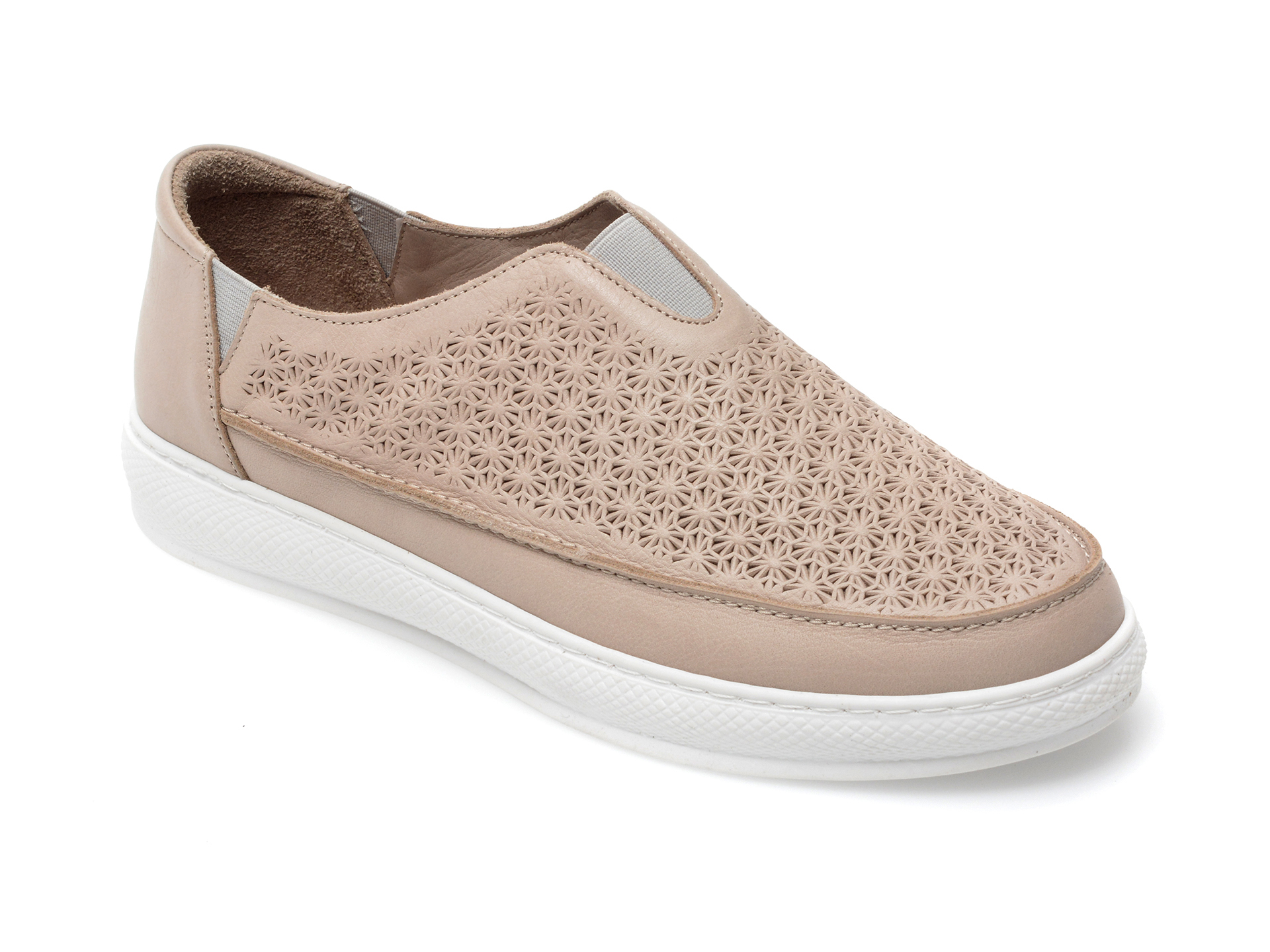 Pantofi FLAVIA PASSINI gri, 193SP84, din piele naturala imagine otter.ro 2021