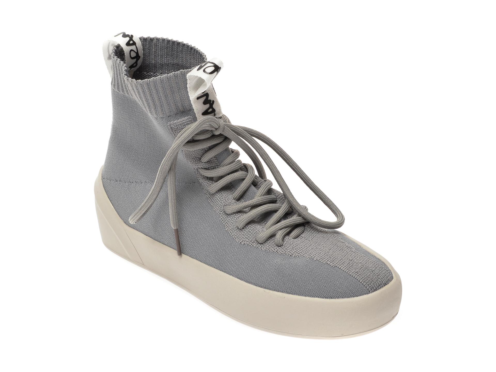 Pantofi FLAVIA PASSINI gri, 3050, din material textil