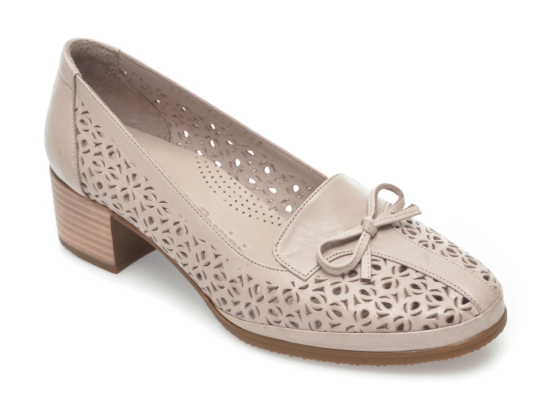 Pantofi FLAVIA PASSINI gri, 5315, din piele naturala imagine otter.ro 2021
