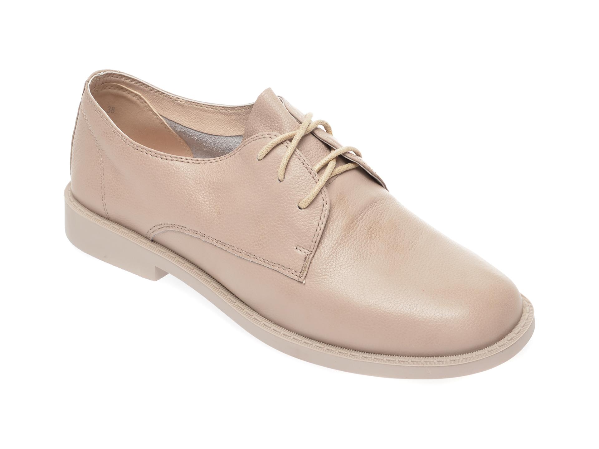 Pantofi FLAVIA PASSINI gri, D19251A, din piele naturala