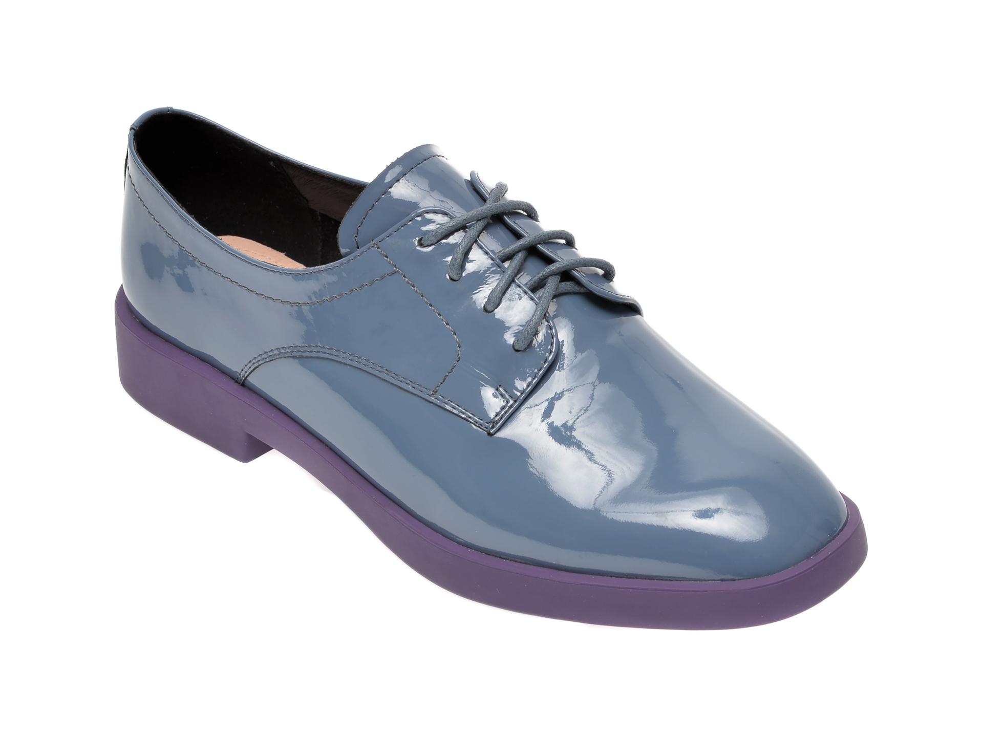Pantofi FLAVIA PASSINI gri, FH92227, din piele naturala lacuita imagine