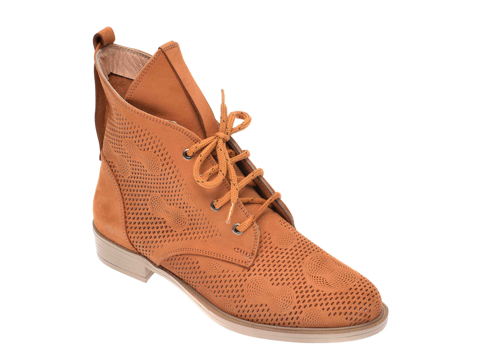 Pantofi FLAVIA PASSINI maro, 0511102, din nabuc