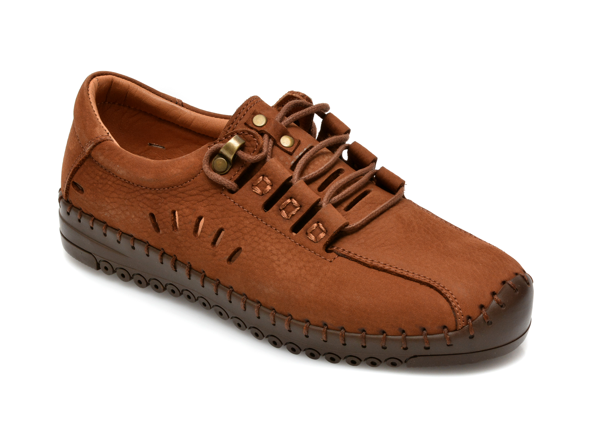 Pantofi FLAVIA PASSINI maro, 101, din piele naturala imagine otter.ro 2021