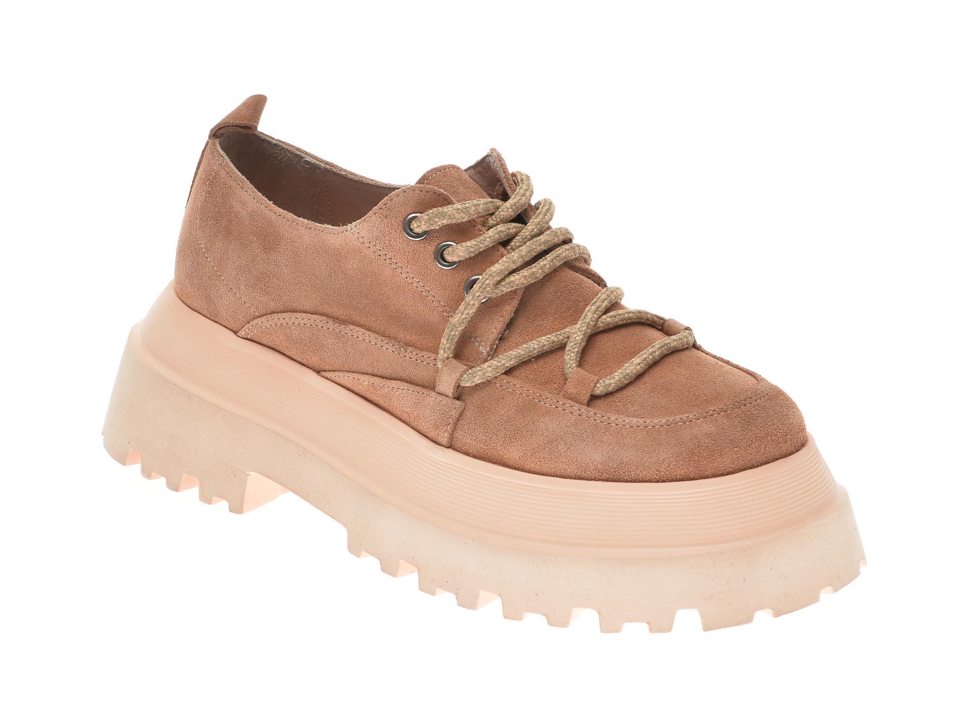 Pantofi FLAVIA PASSINI maro, 11903, din piele intoarsa