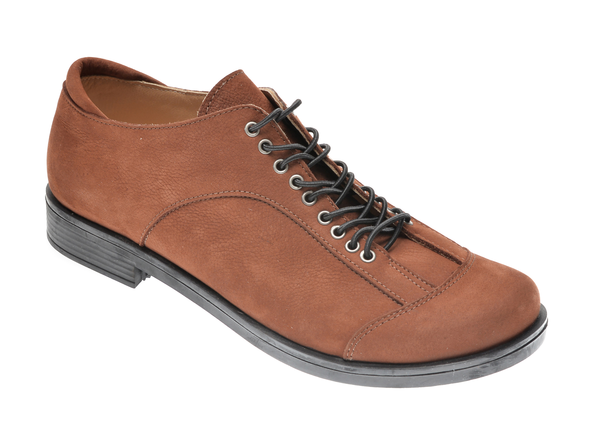 Pantofi FLAVIA PASSINI maro, 1243852, din nabuc imagine