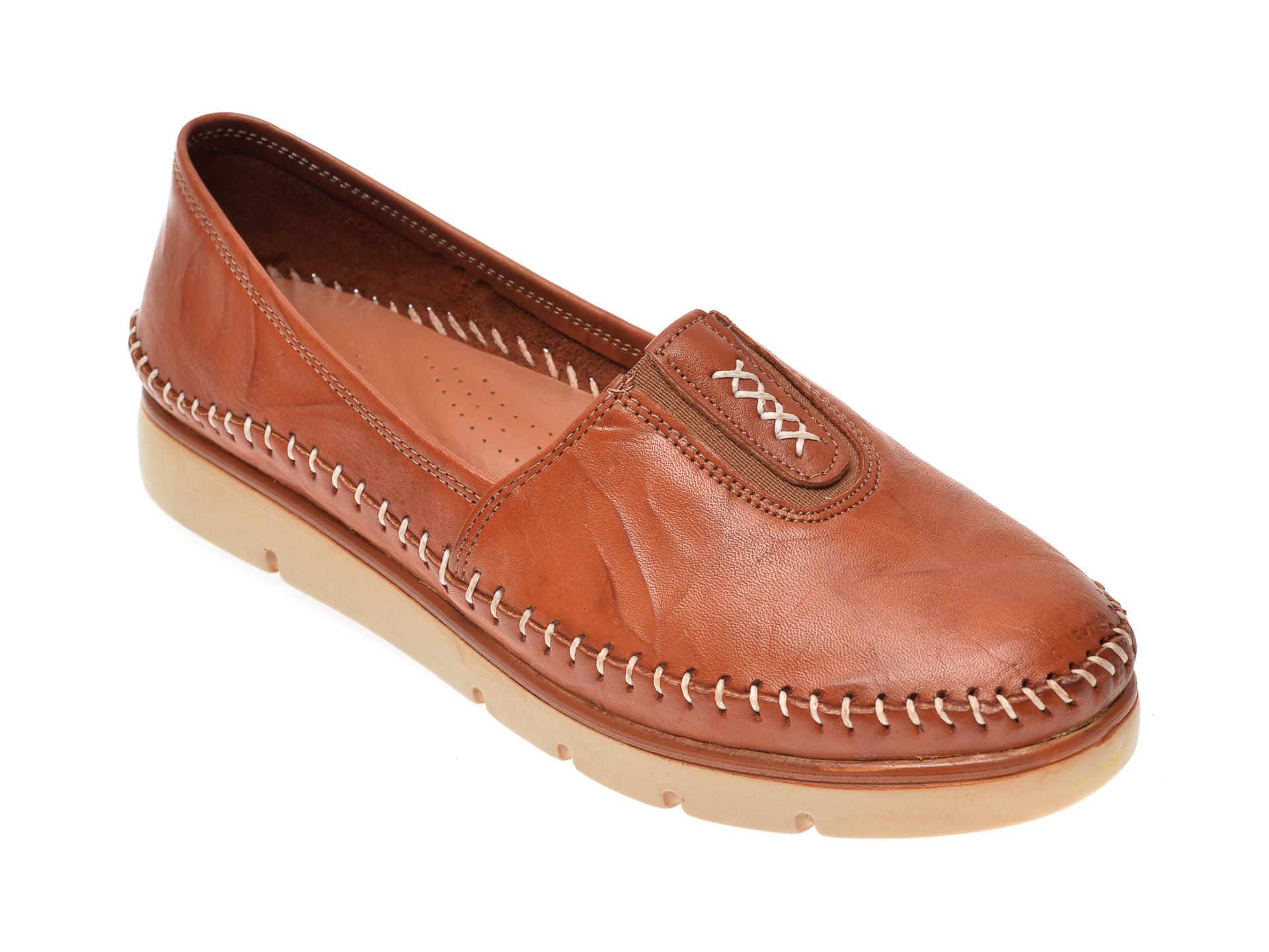 Pantofi FLAVIA PASSINI maro, 1712, din piele naturala