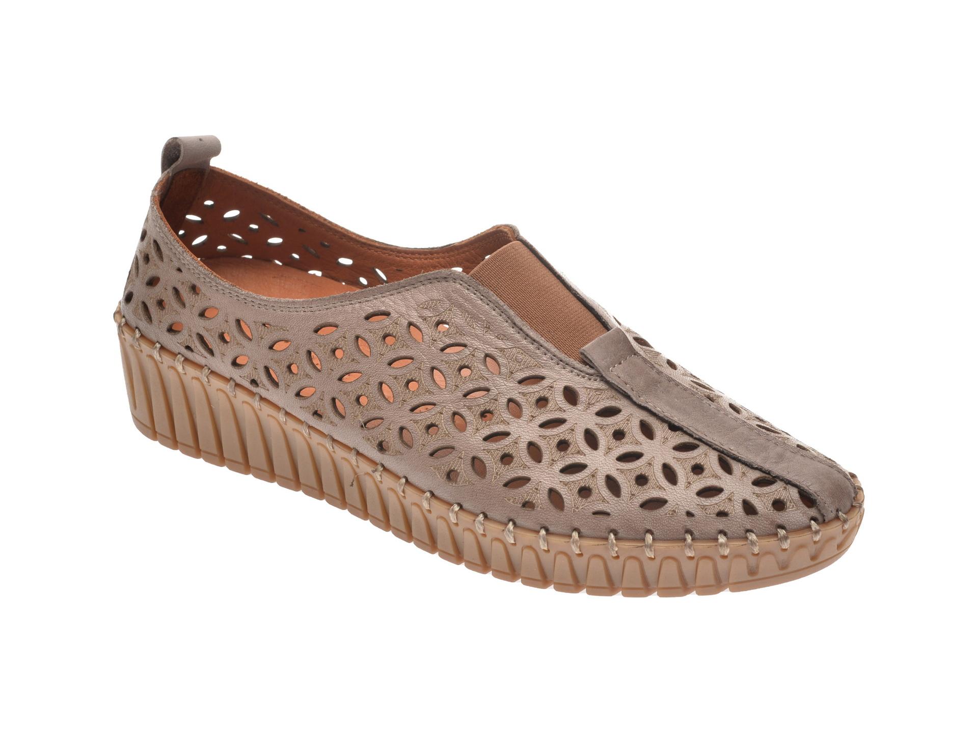 Pantofi FLAVIA PASSINI maro, 2389001, din piele naturala imagine