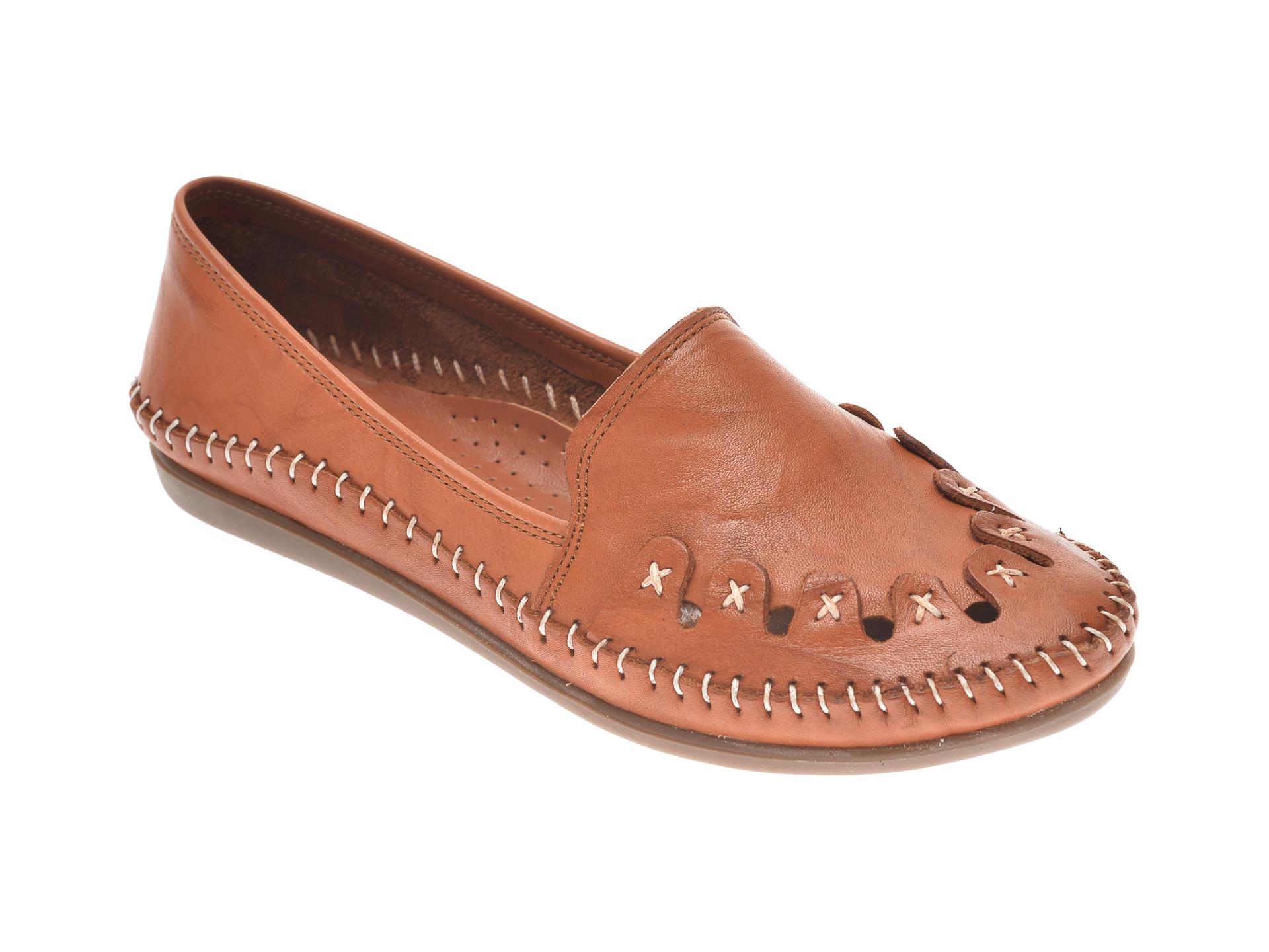 Pantofi FLAVIA PASSINI maro, 429, din piele naturala imagine otter.ro 2021