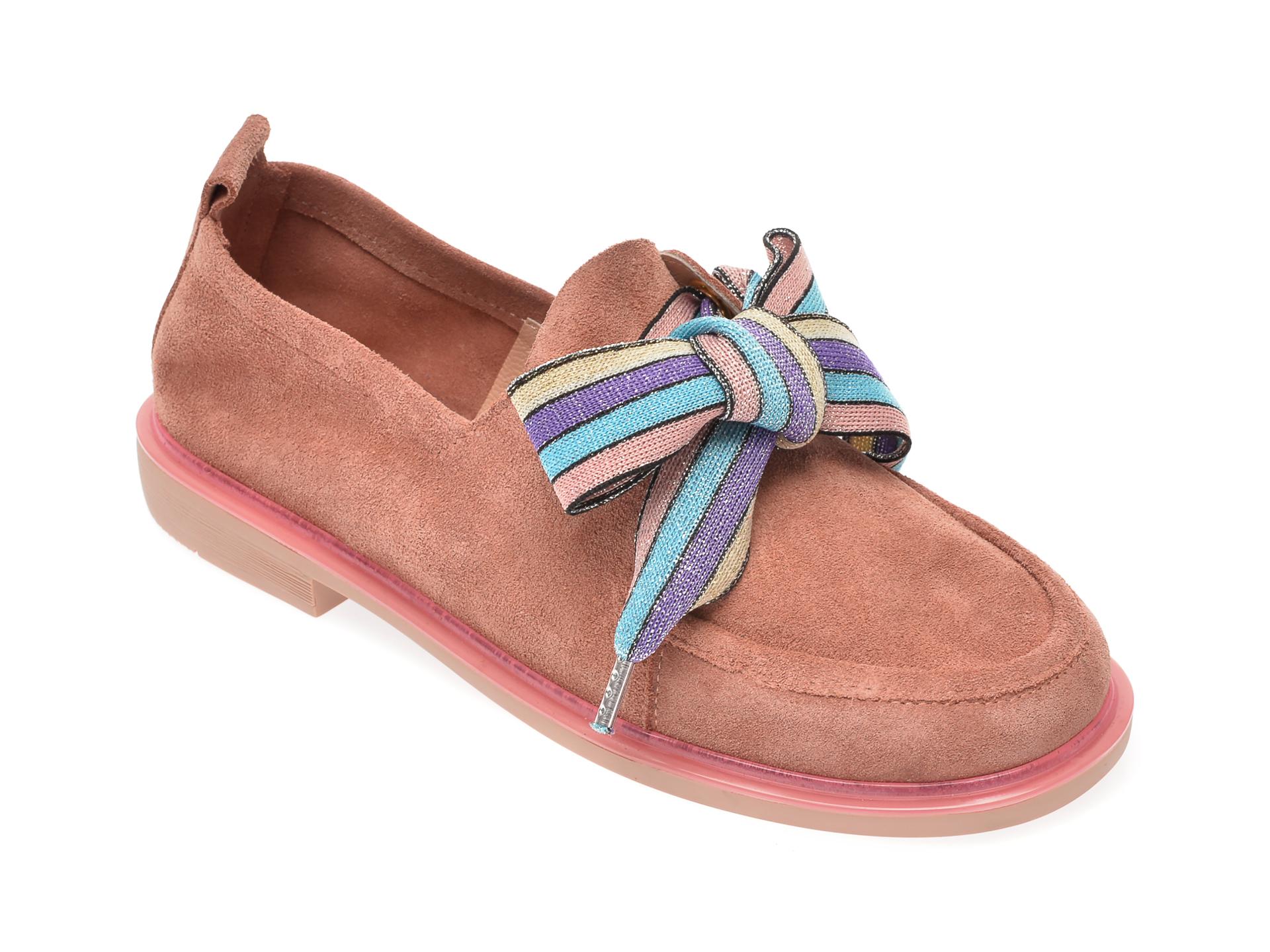 Pantofi FLAVIA PASSINI maro, 6581374, din piele intoarsa
