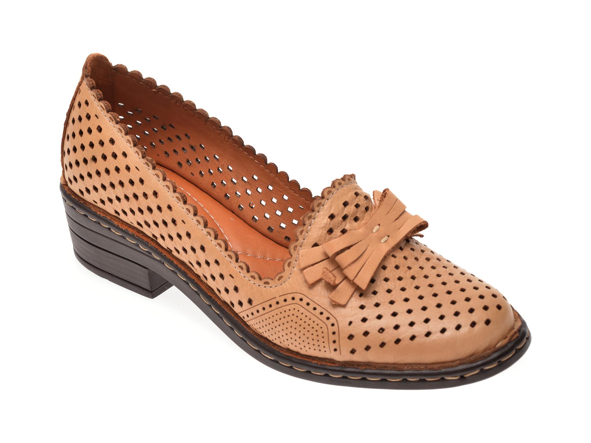 Pantofi FLAVIA PASSINI maro, 70451, din piele naturala imagine