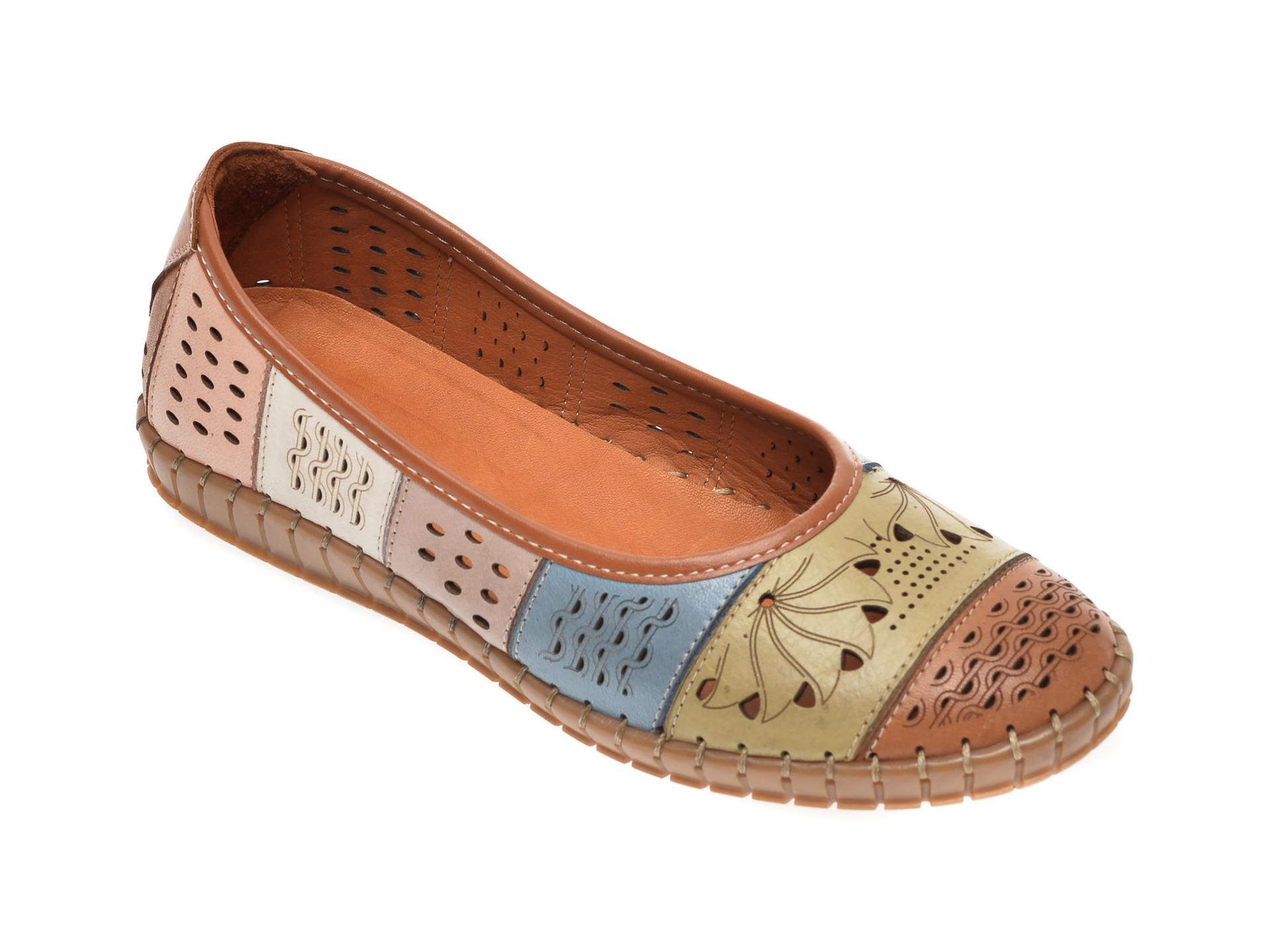 Pantofi FLAVIA PASSINI maro, 769900, din piele naturala imagine