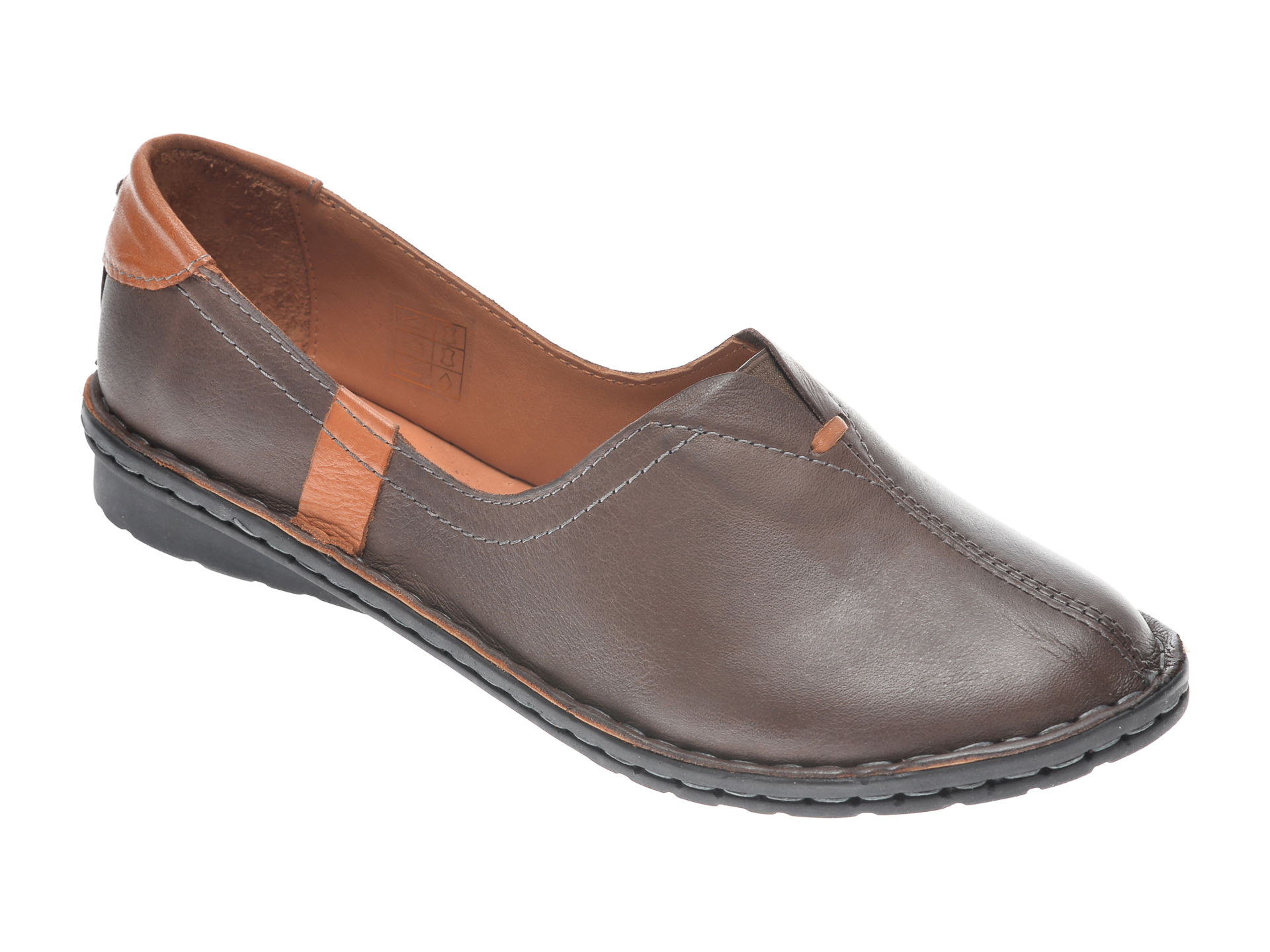 Pantofi FLAVIA PASSINI maro, 952405, din piele naturala imagine