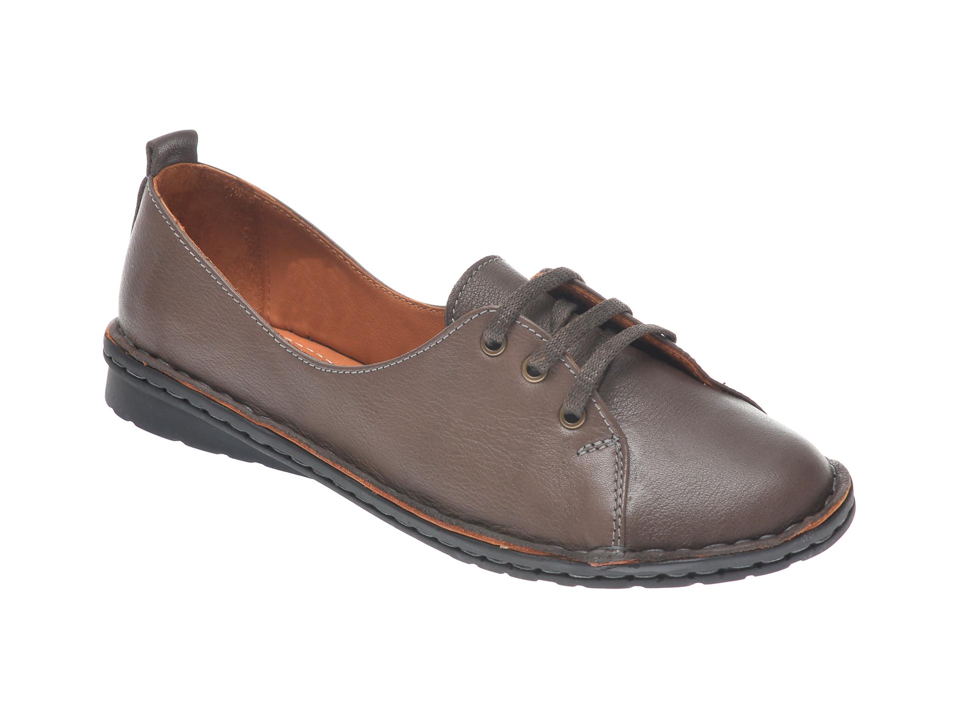 Pantofi FLAVIA PASSINI maro, 952422, din piele naturala imagine