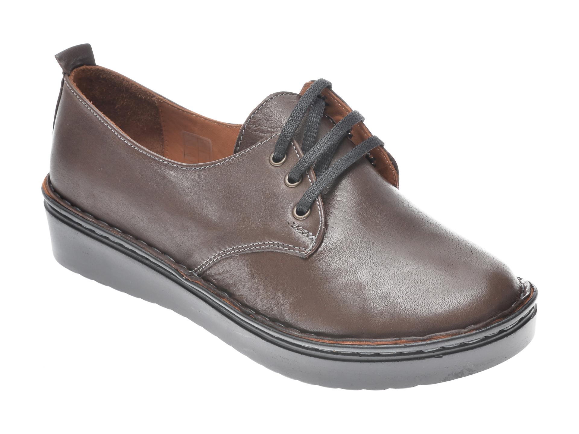 Pantofi FLAVIA PASSINI maro, 953520, din piele naturala imagine