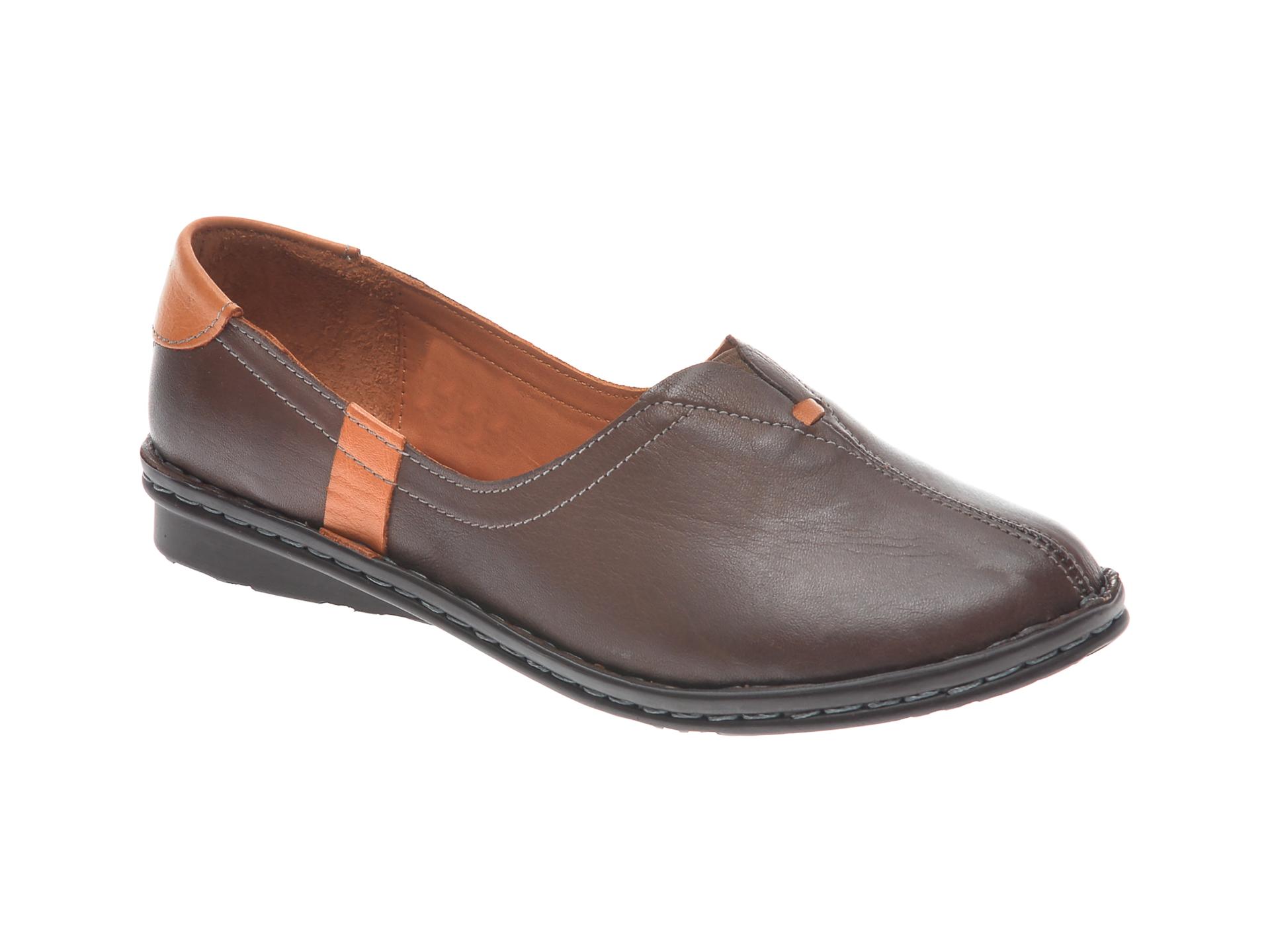Pantofi FLAVIA PASSINI maro, 954405, din piele naturala New