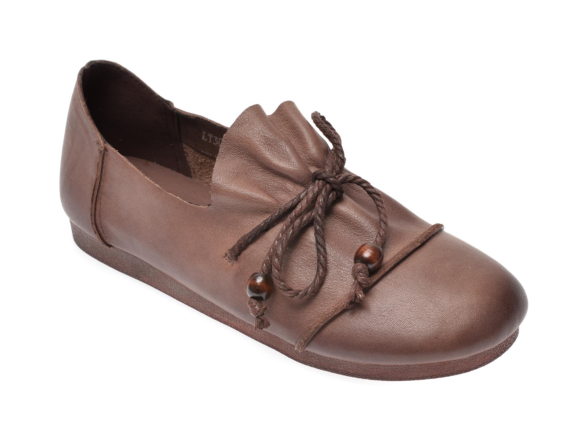 Pantofi FLAVIA PASSINI maro, C3011, din piele naturala