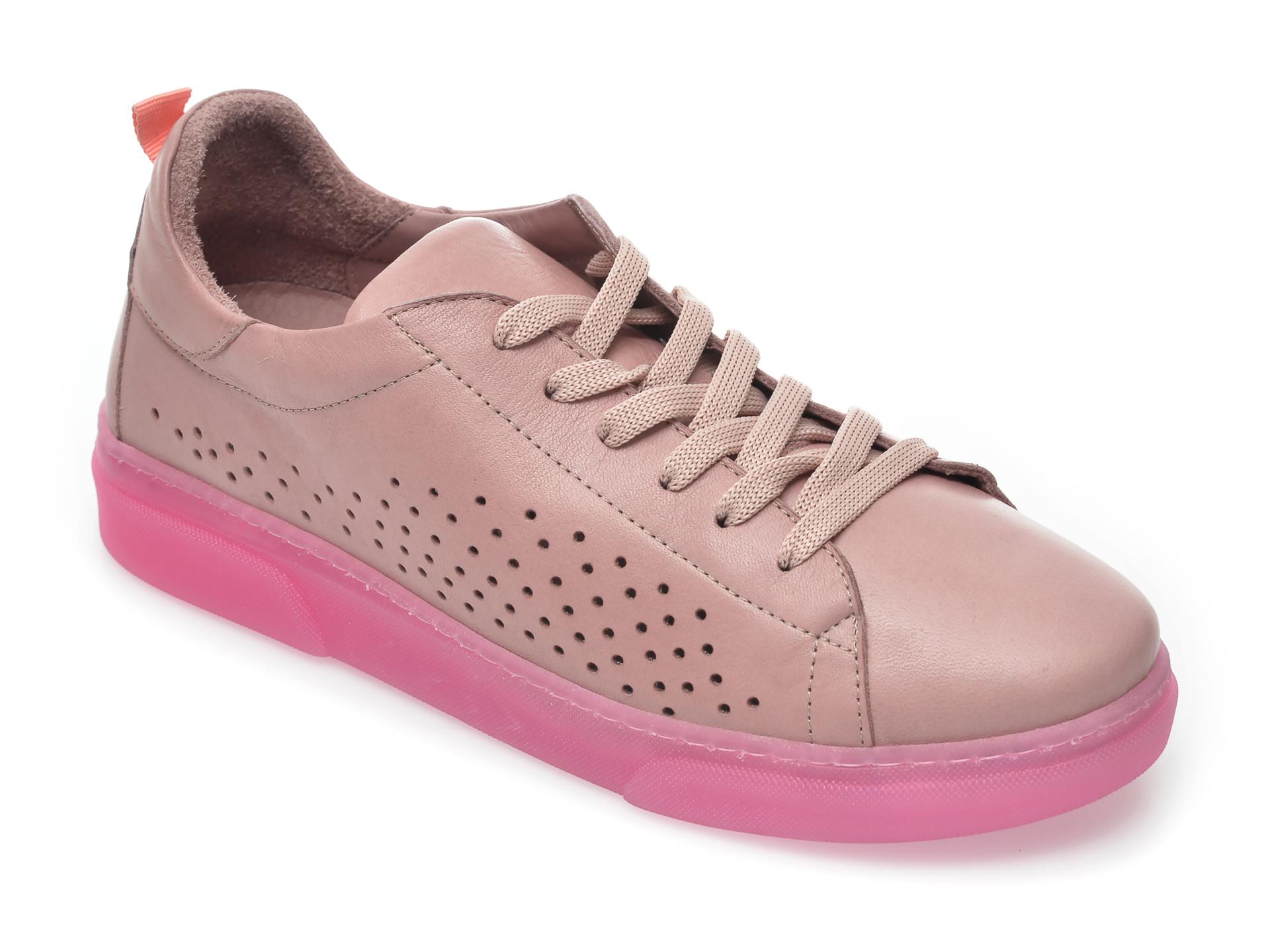 Pantofi FLAVIA PASSINI mov, 8808144, din piele naturala imagine otter.ro