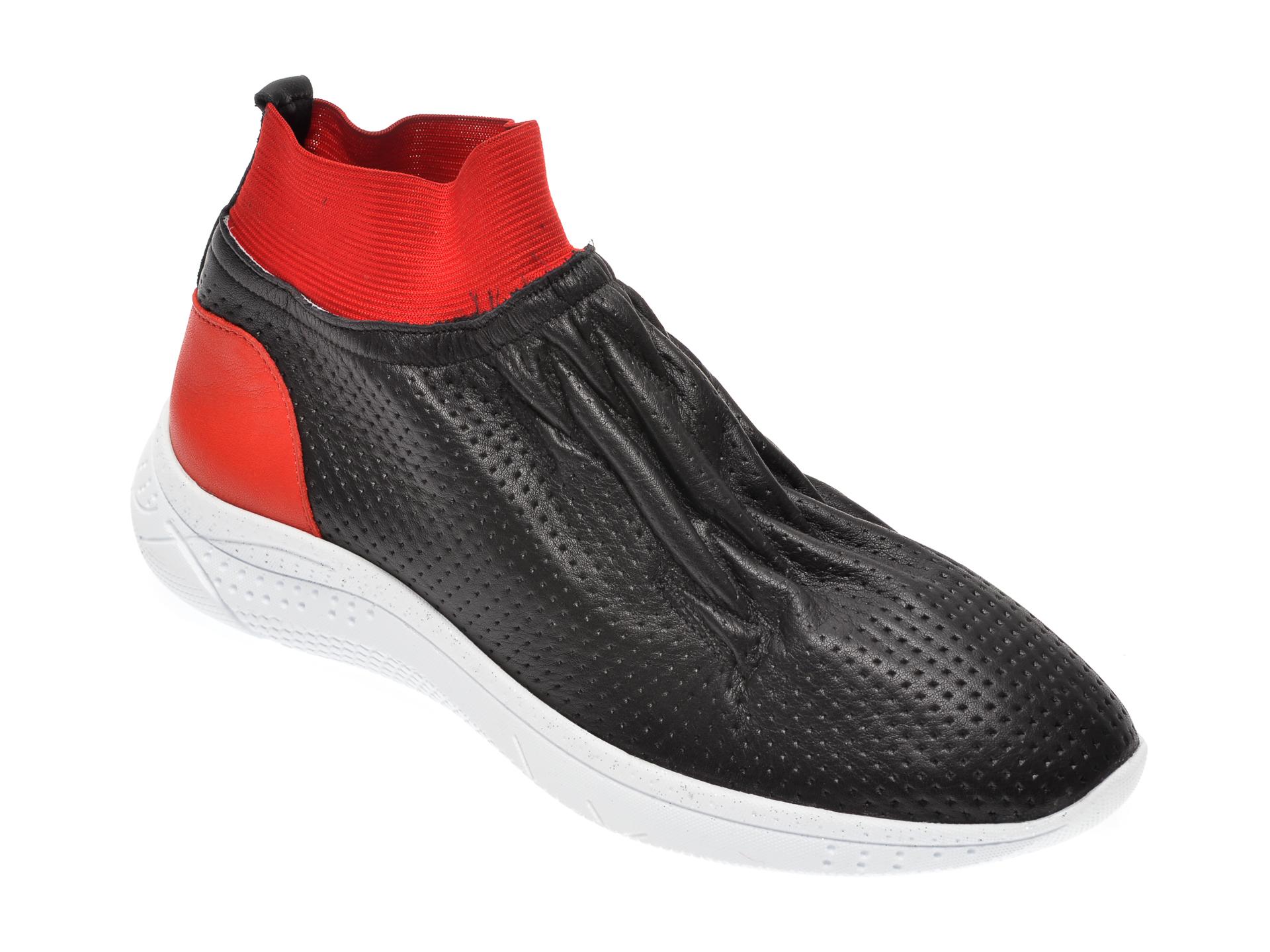 Pantofi FLAVIA PASSINI negre, 1695096, din piele naturala imagine