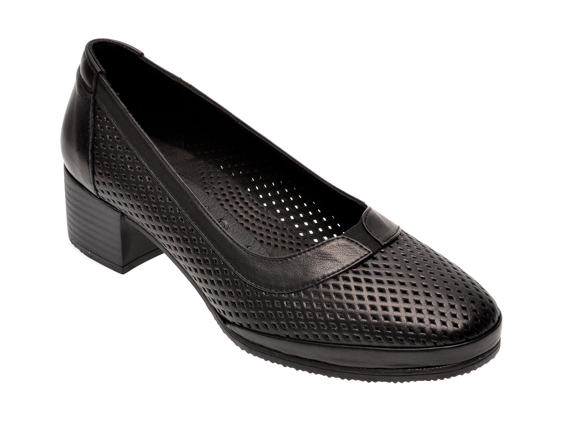Pantofi FLAVIA PASSINI negri, 0105064, din piele naturala
