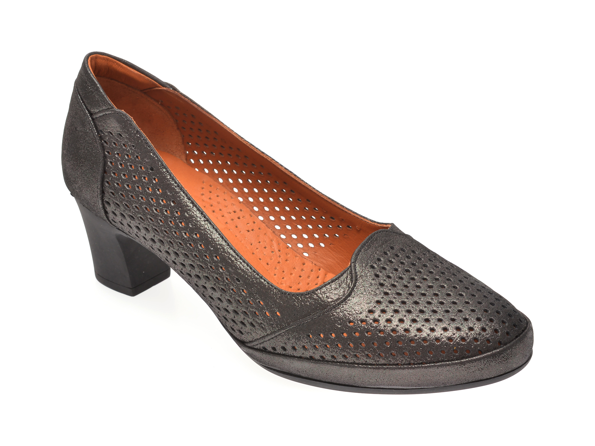 Pantofi FLAVIA PASSINI negri, 0105127, din piele naturala