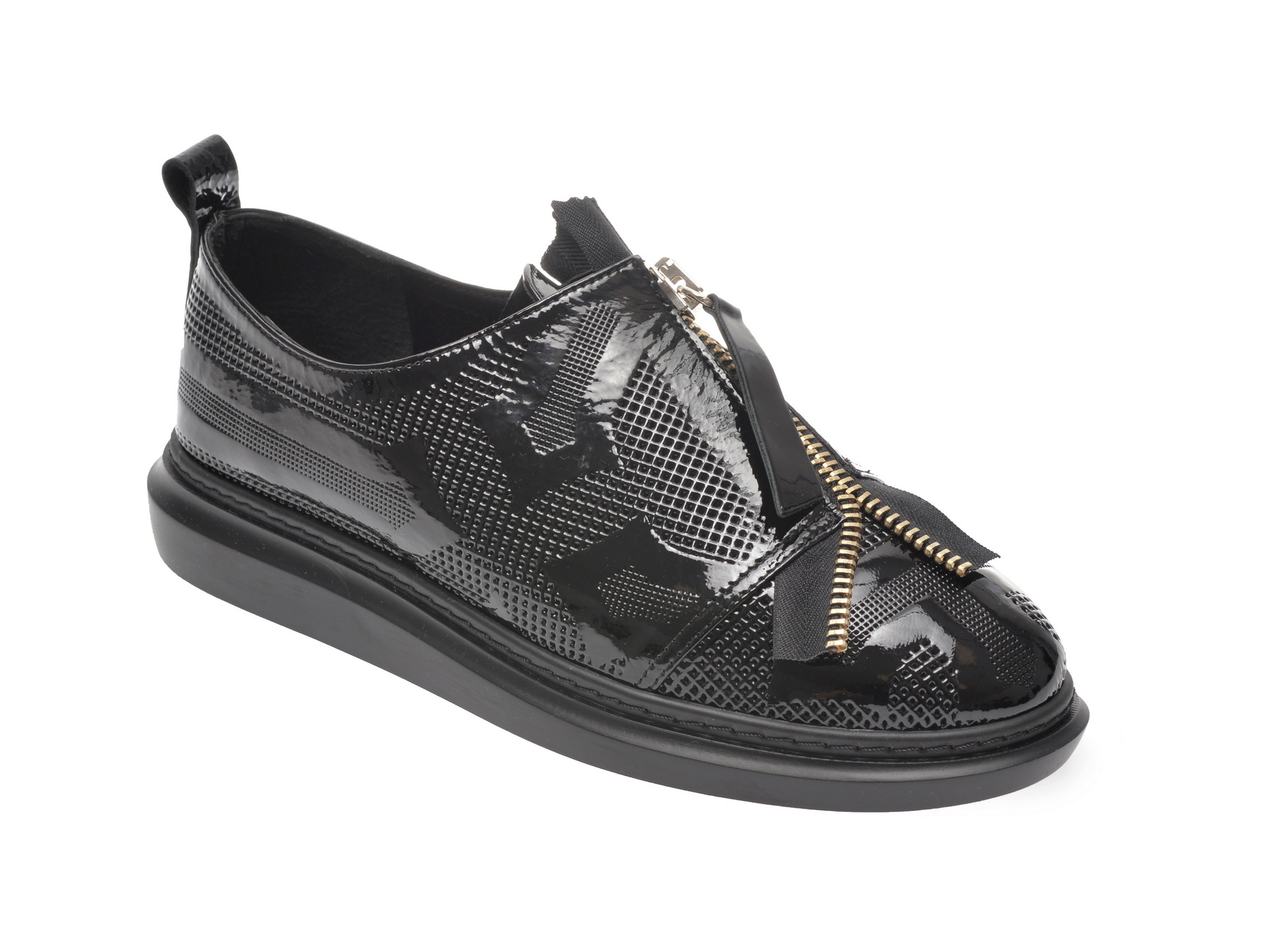 Pantofi FLAVIA PASSINI negri, 0612150, din piele naturala
