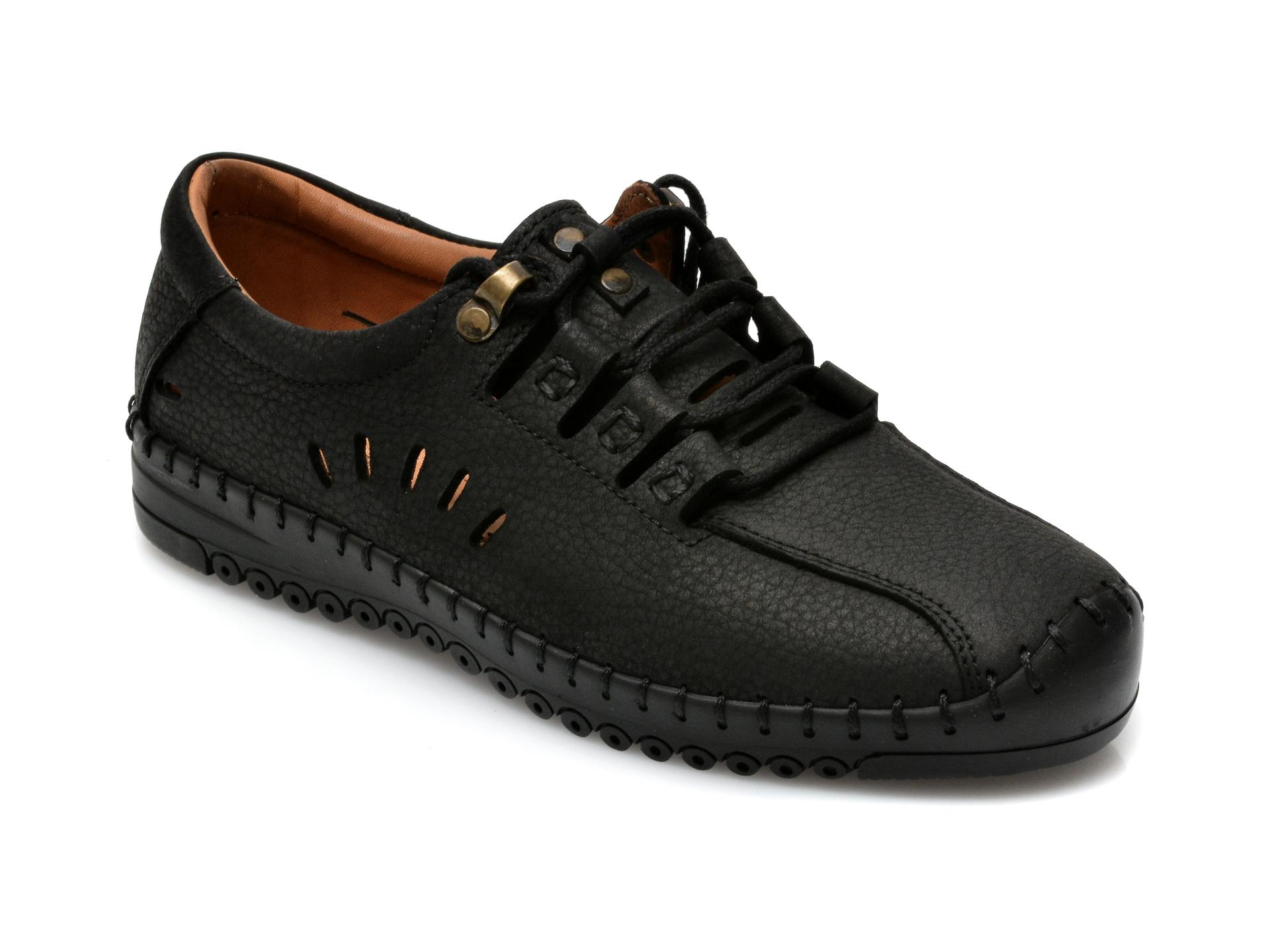 Pantofi FLAVIA PASSINI negri, 101, din piele naturala imagine otter.ro 2021
