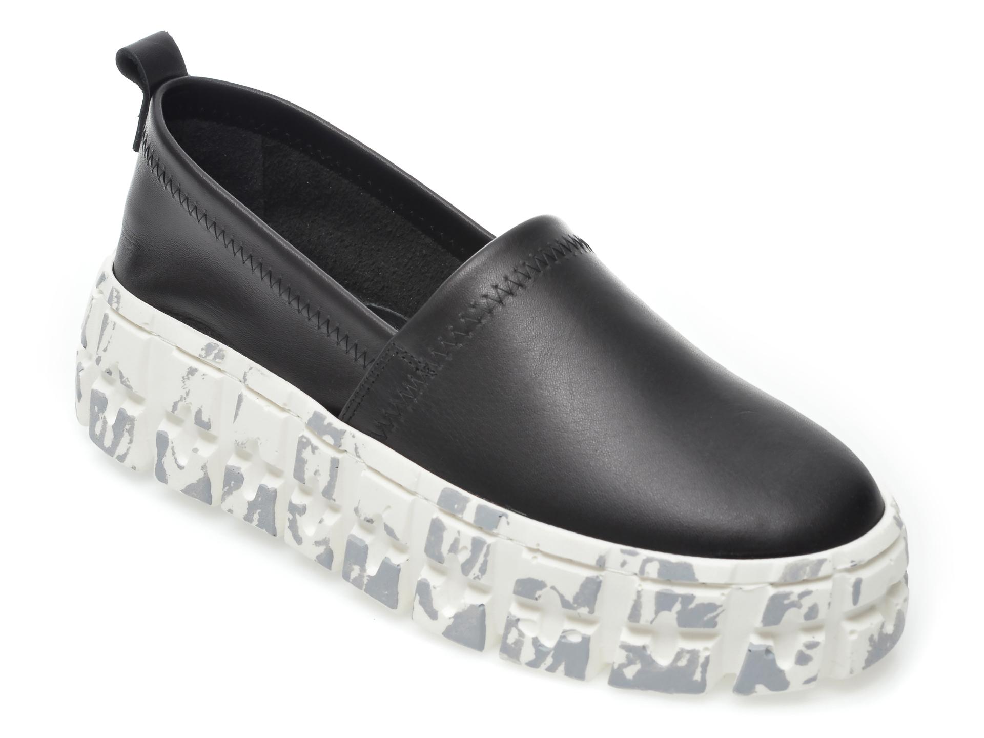 Pantofi FLAVIA PASSINI negri, 1022130, din piele naturala imagine otter.ro 2021