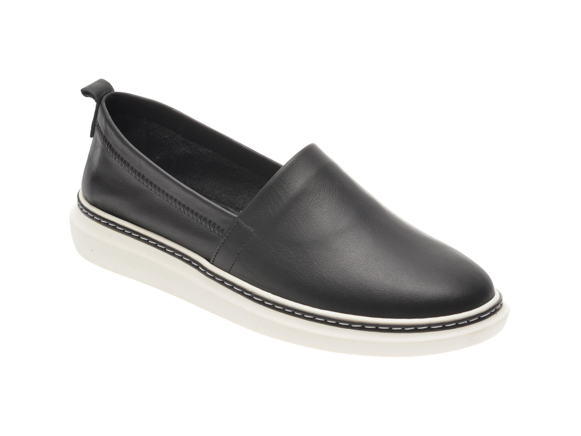 Pantofi FLAVIA PASSINI negri, 1029000, din piele naturala imagine