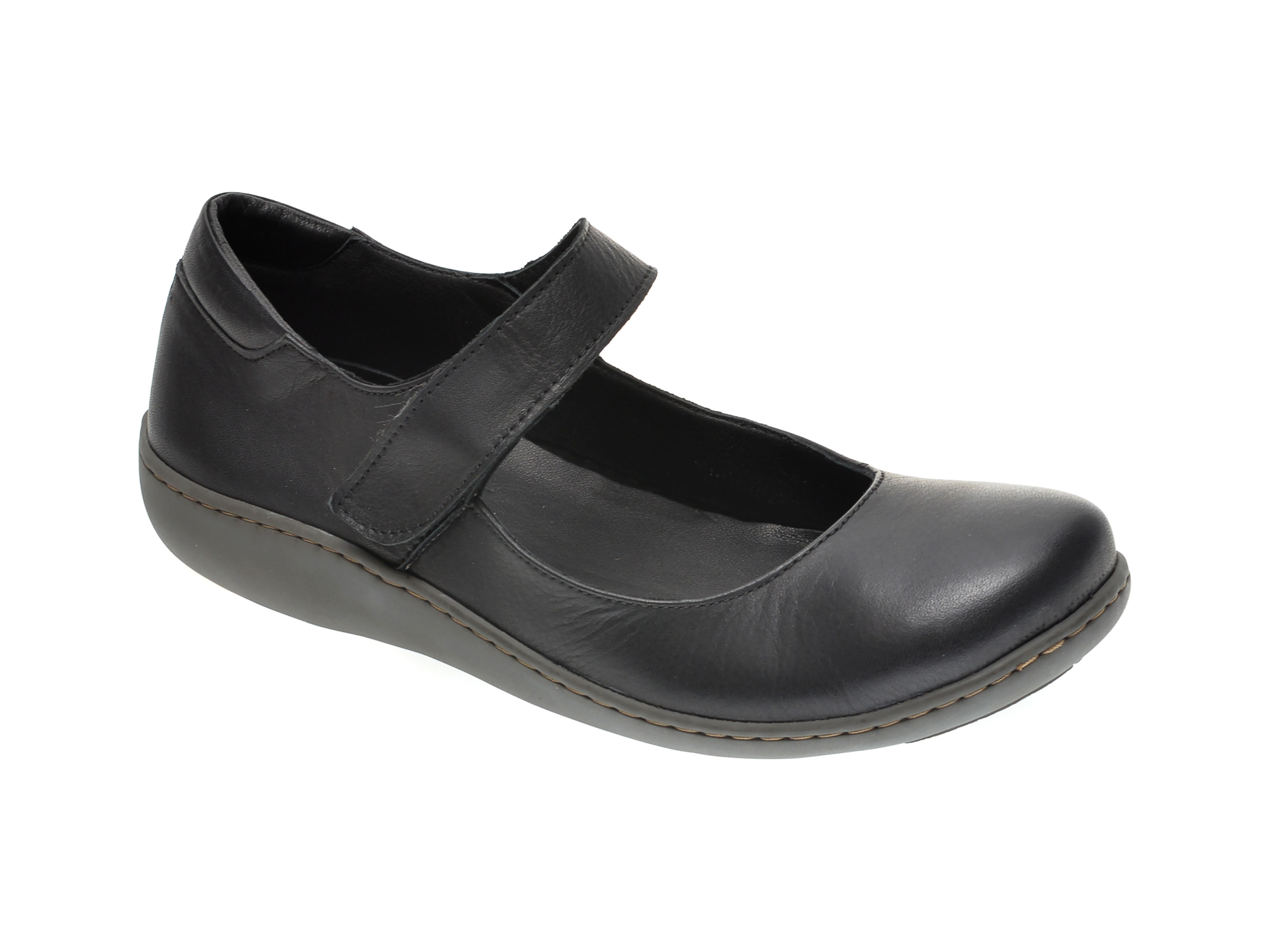 Pantofi FLAVIA PASSINI negri, 1038, din piele naturala imagine