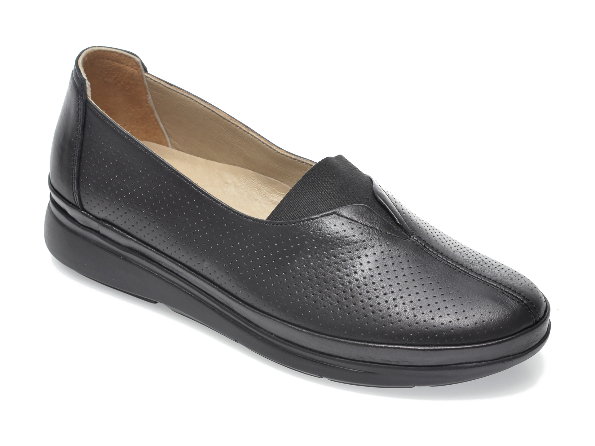 Pantofi FLAVIA PASSINI negri, 1044501, din piele naturala imagine otter.ro 2021