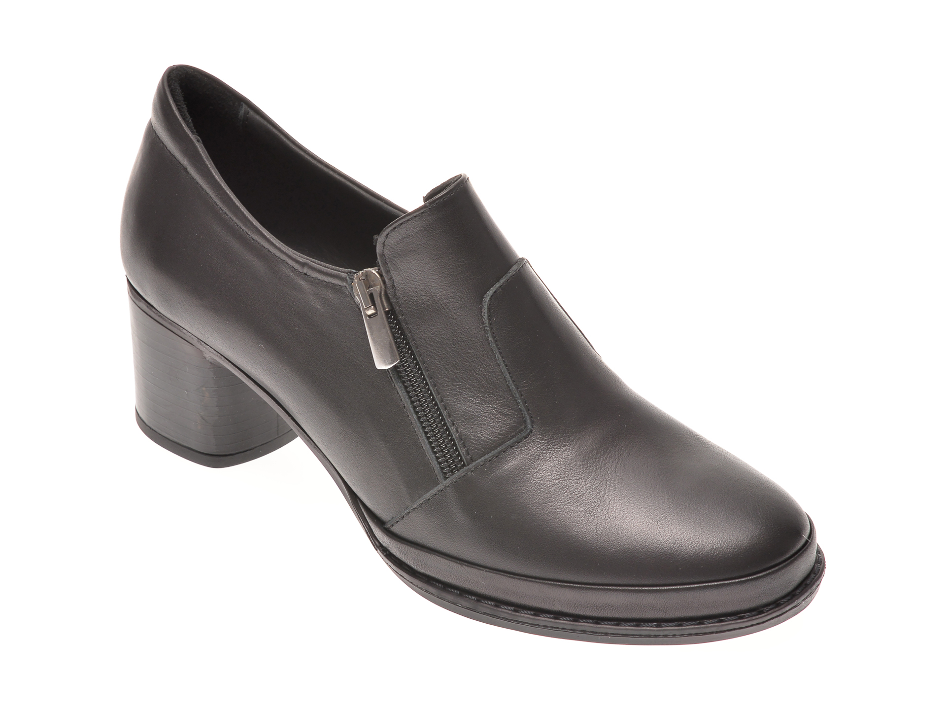 Pantofi FLAVIA PASSINI negri, 10898, din piele naturala imagine otter.ro 2021