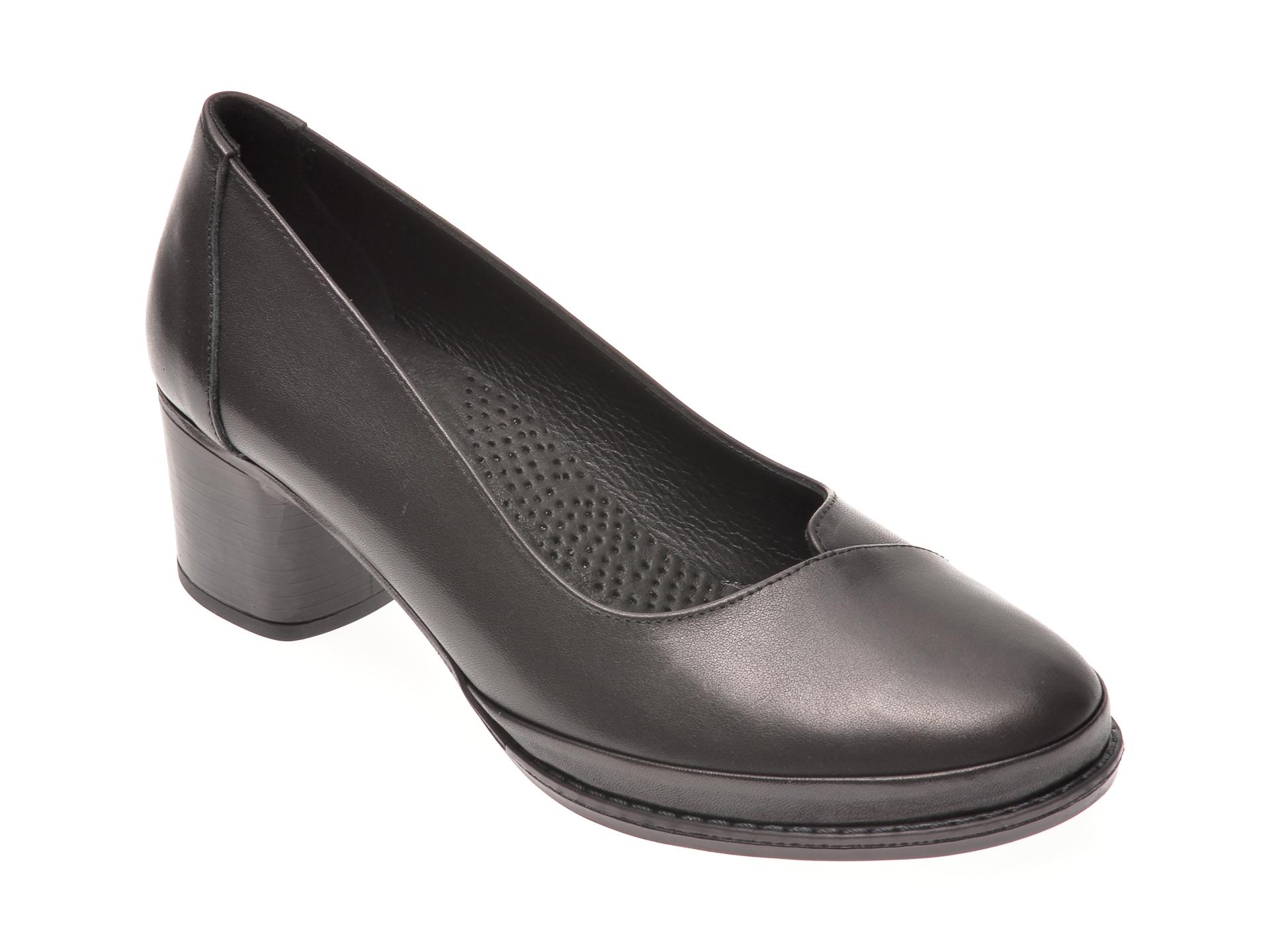 Pantofi FLAVIA PASSINI negri, 10899, din piele naturala imagine otter.ro 2021