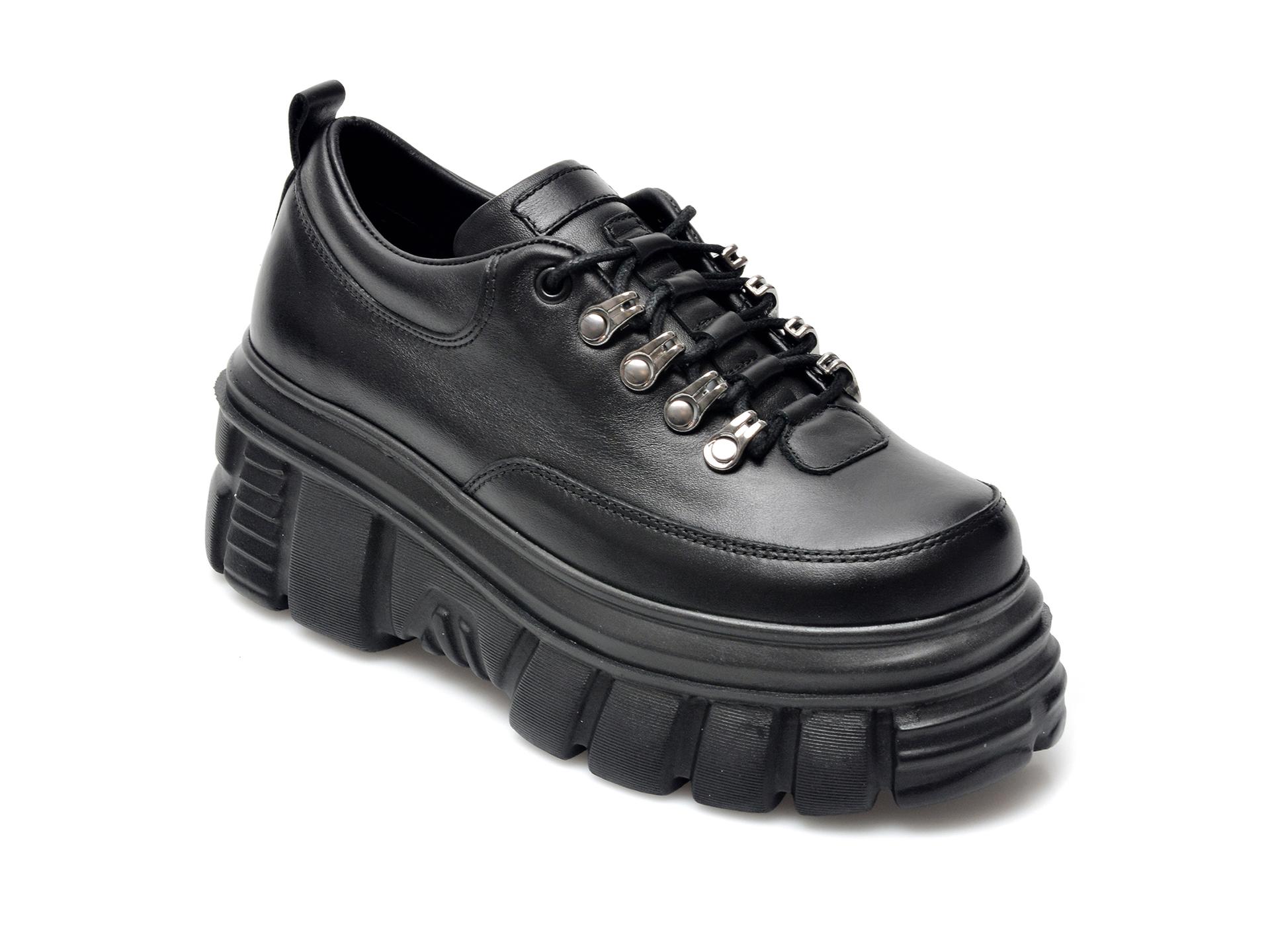 Pantofi FLAVIA PASSINI negri, 1182838, din piele naturala imagine otter.ro 2021