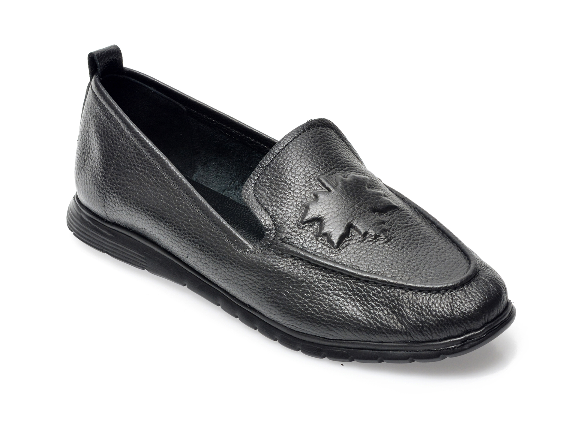Pantofi FLAVIA PASSINI negri, 121995, din piele naturala imagine otter.ro 2021