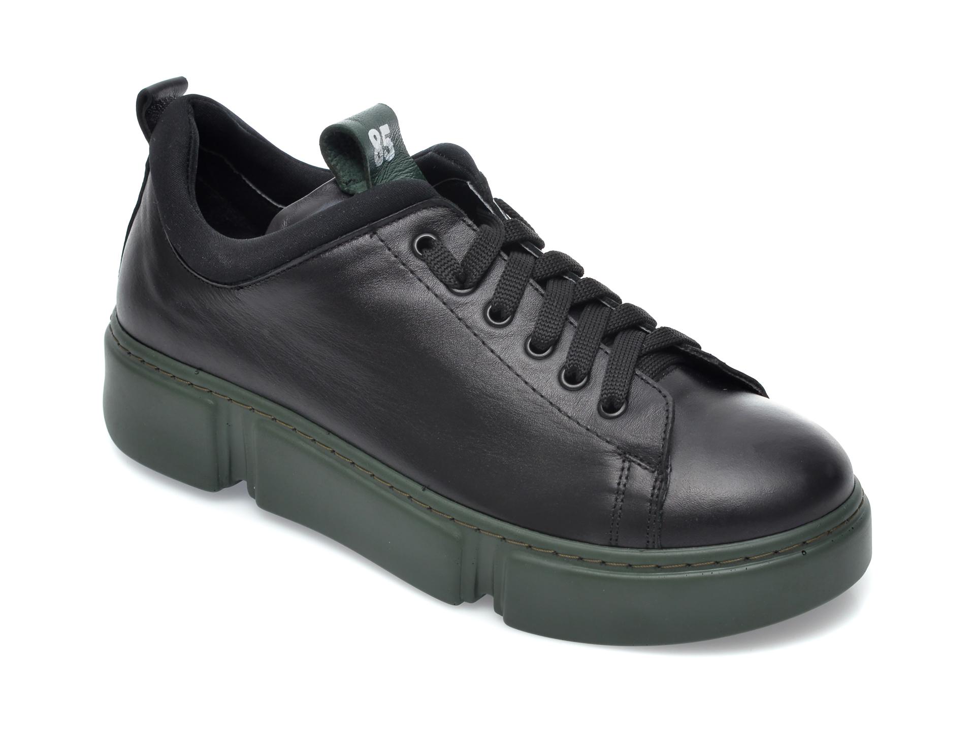 Pantofi FLAVIA PASSINI negri, 12510, din piele naturala imagine otter.ro 2021