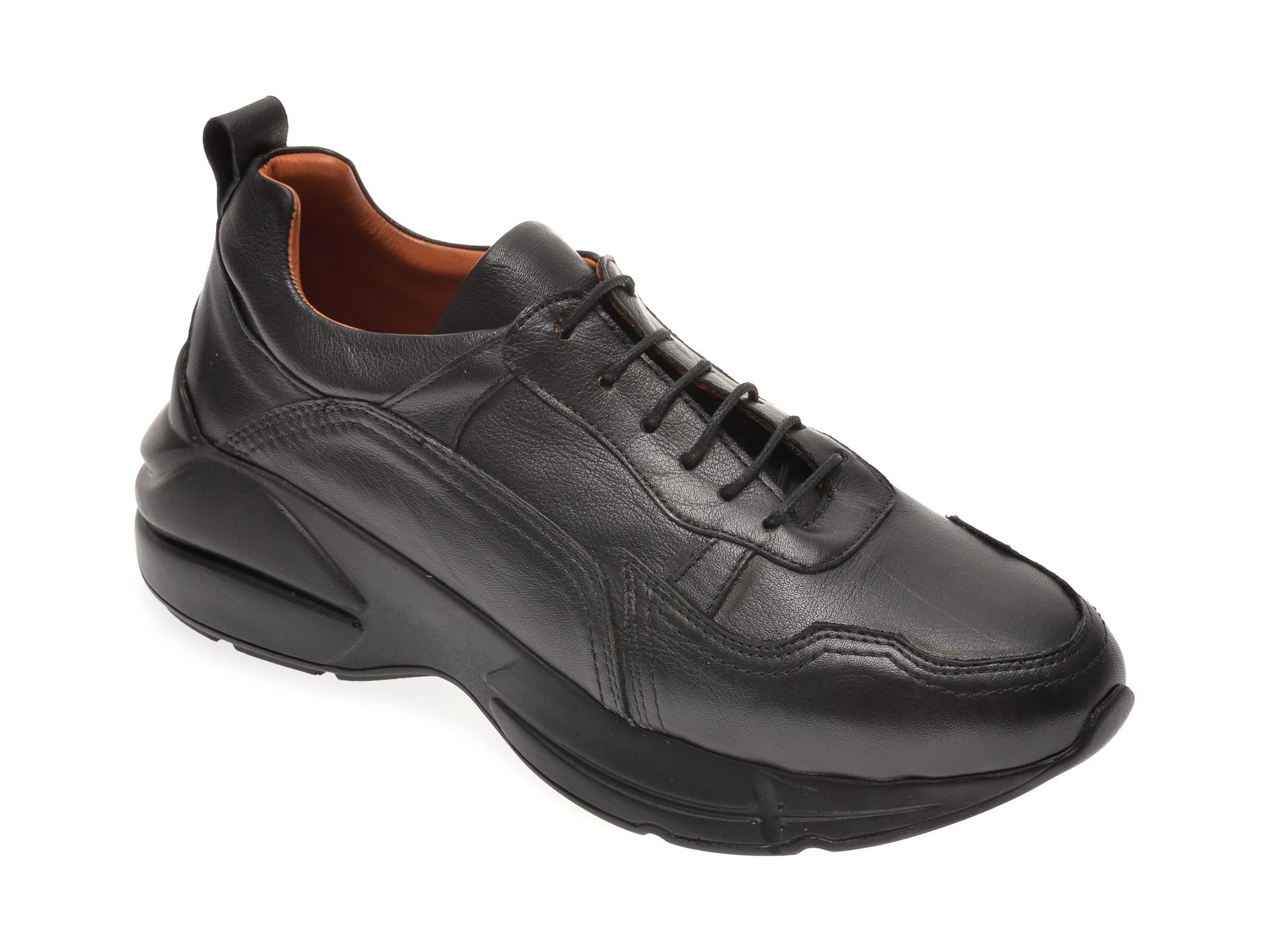 Pantofi FLAVIA PASSINI negri, 125950, din piele naturala