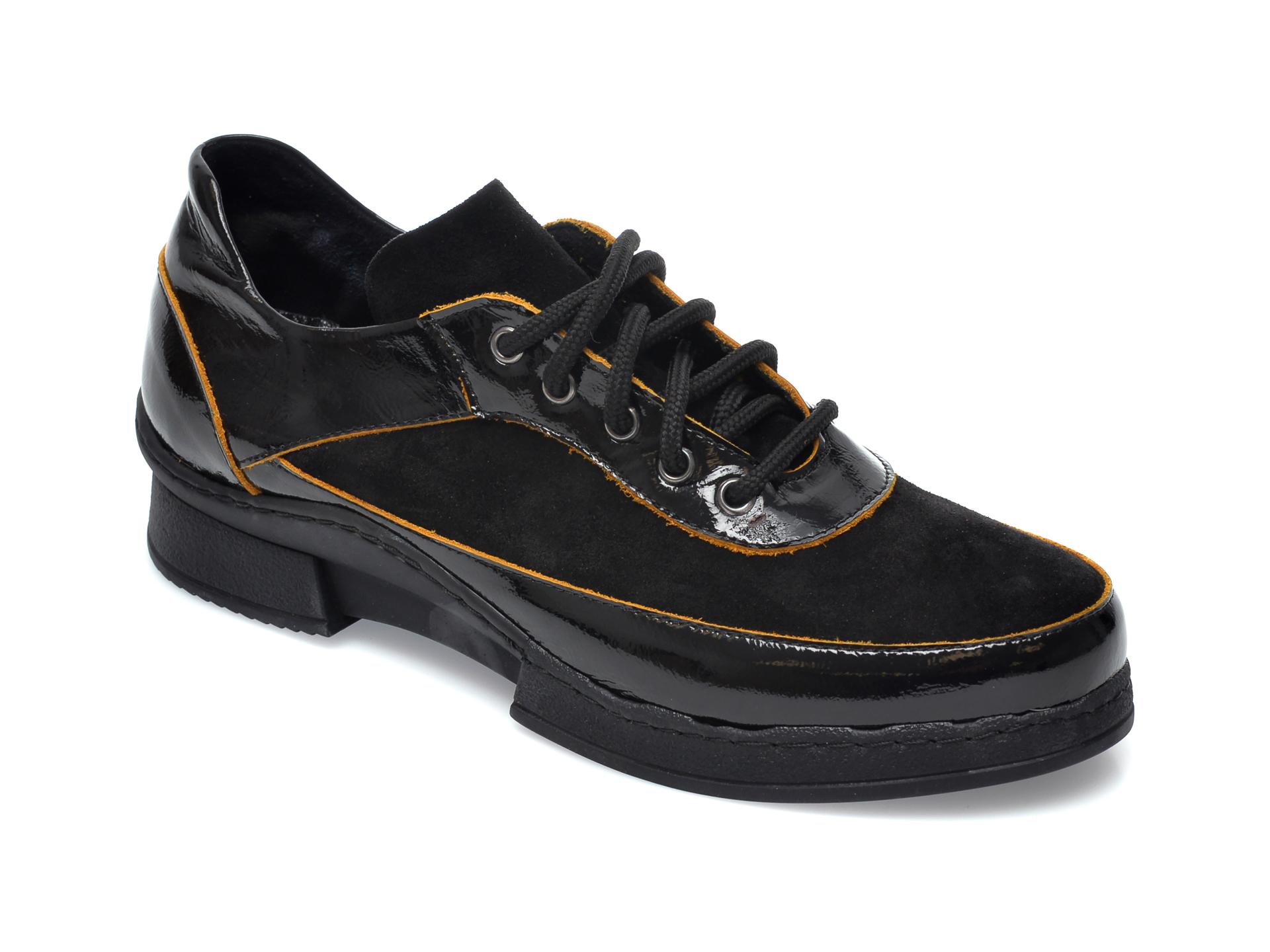 Pantofi FLAVIA PASSINI negri, 1301973, din piele naturala